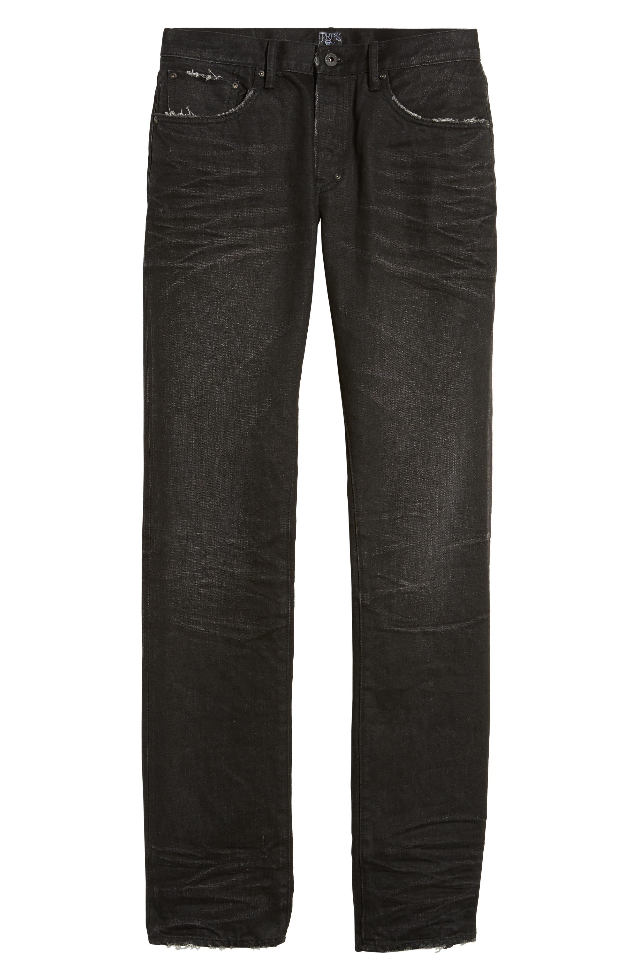 Slim Straight Leg Jeans,                             Alternate thumbnail 6, color,                             Sternum