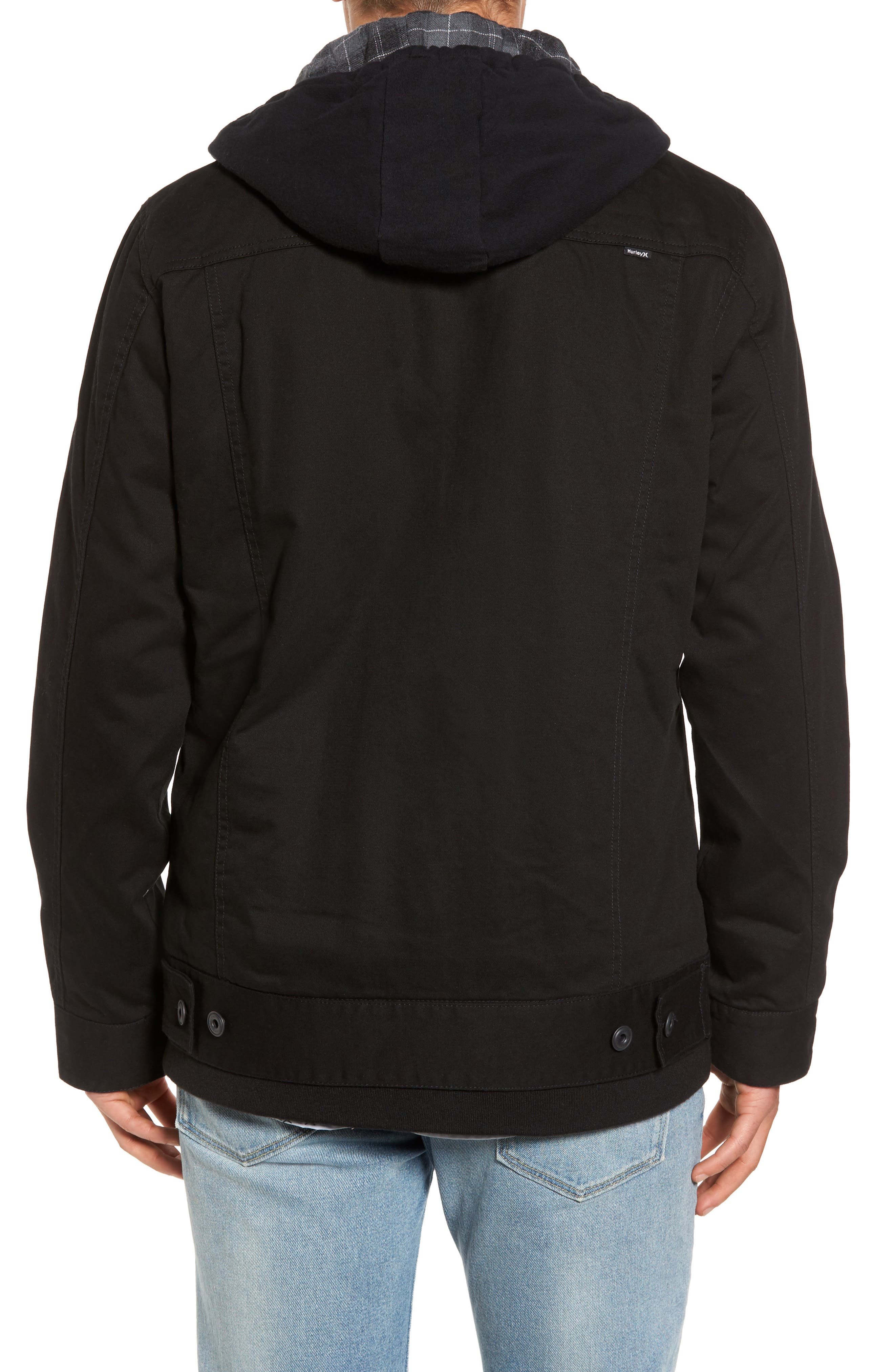 Alternate Image 2  - Hurley Mac Trucker 3.0 Hooded Jacket