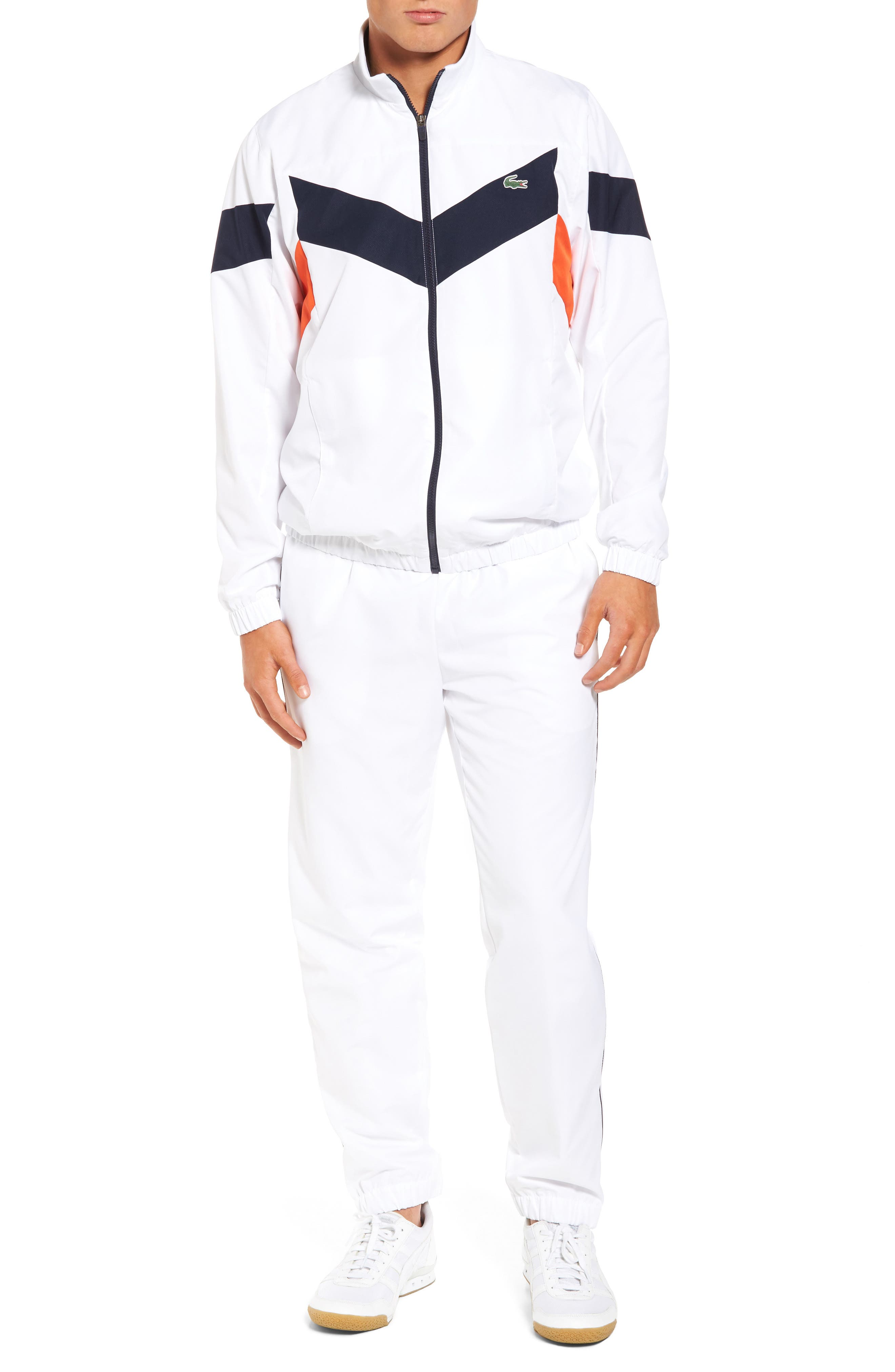 Lacoste Chevron Stripe Track Suit