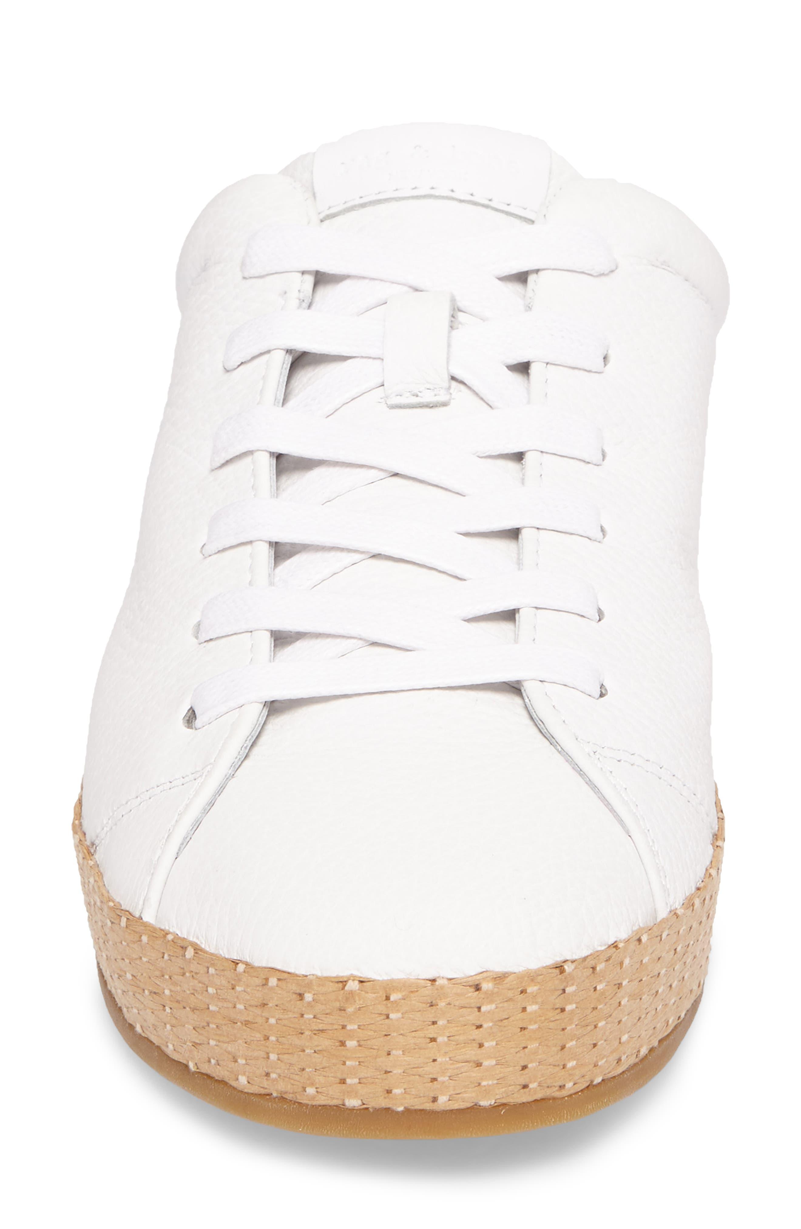 RB1 Slip-On Sneaker,                             Alternate thumbnail 4, color,                             White