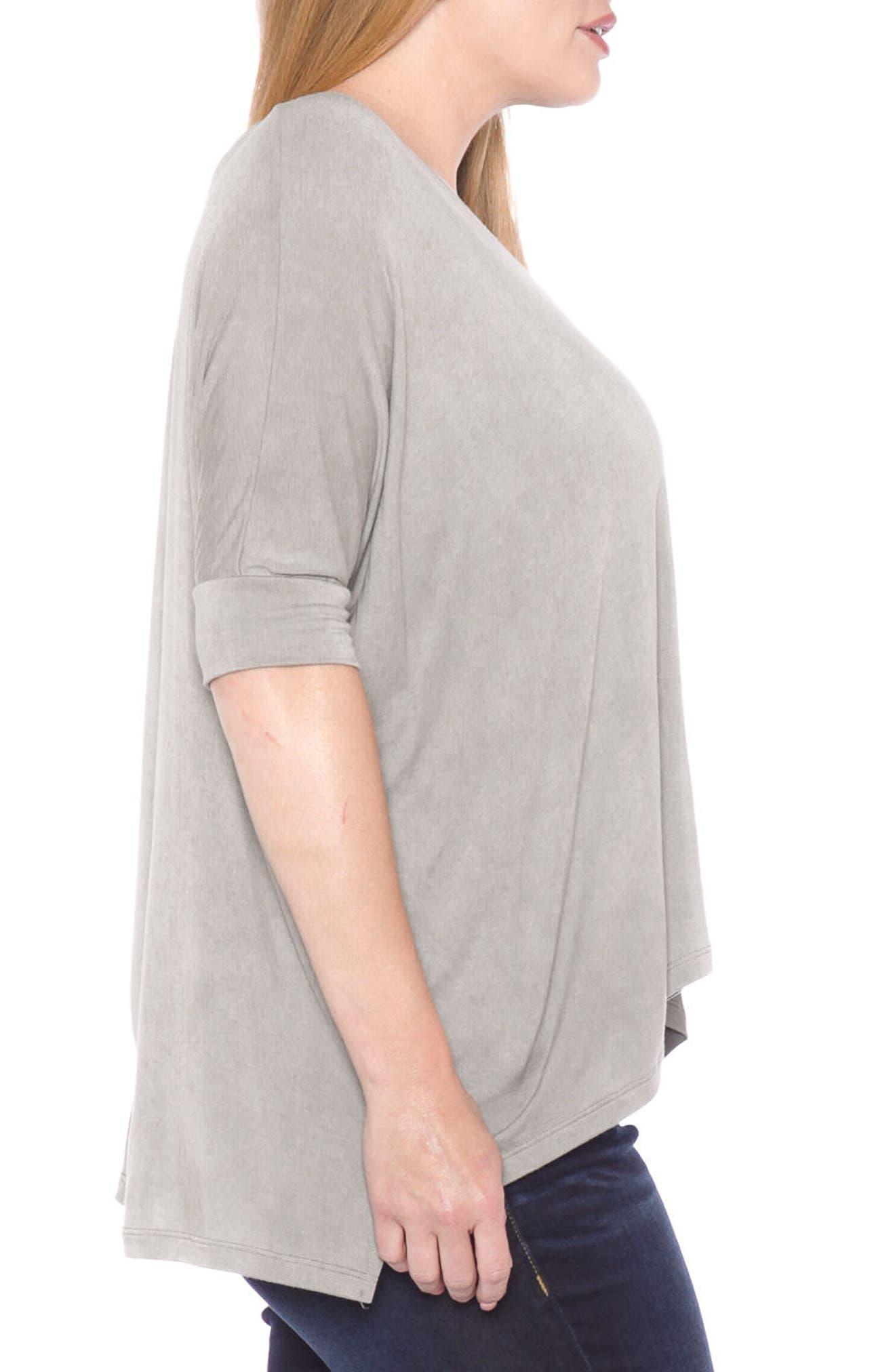 Alternate Image 3  - SLINK Jeans Dolman Sleeve Top (Plus Size)