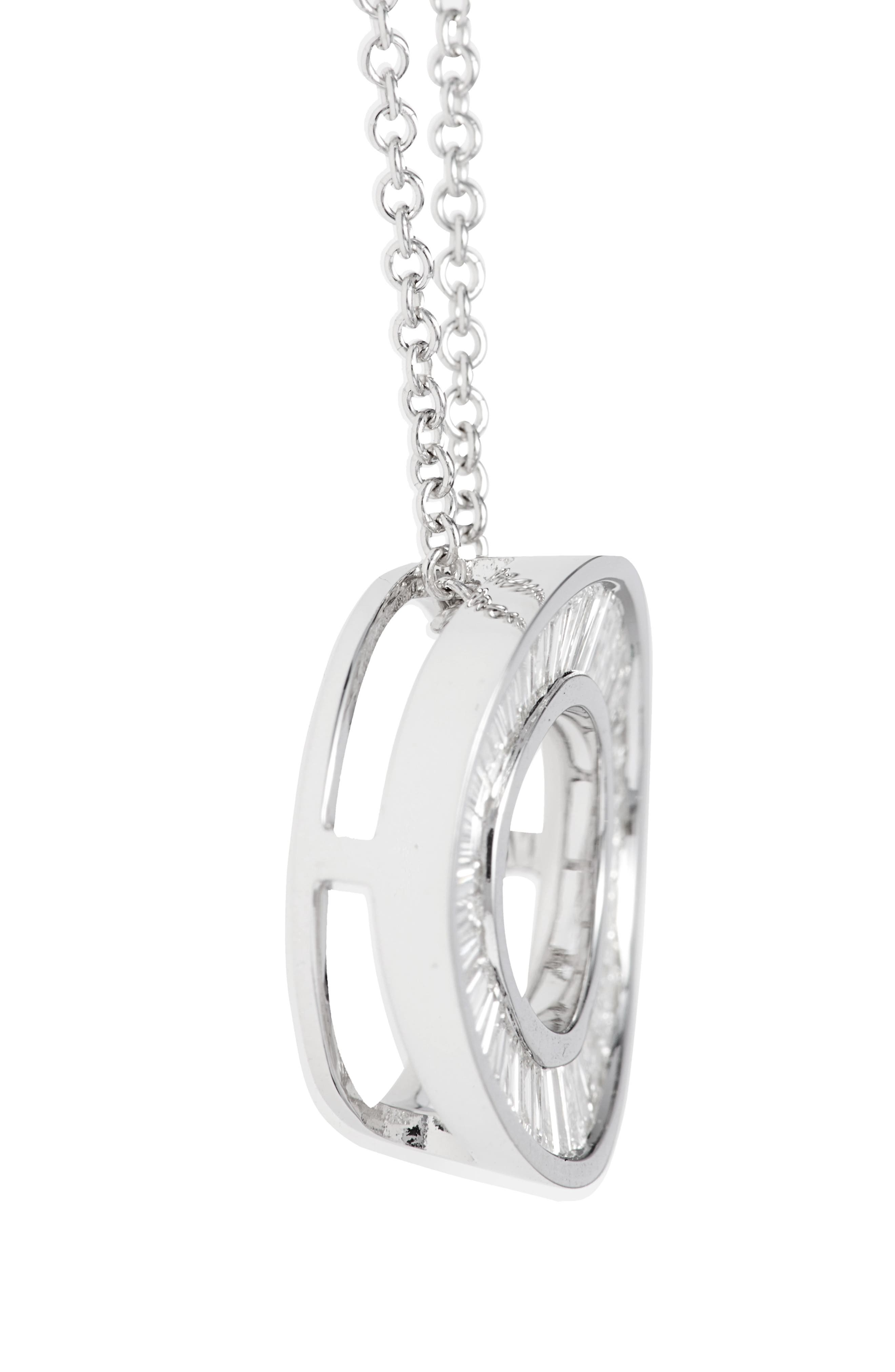 Alternate Image 3  - Bony Levy 'Circle of Life' Small Diamond Pendant Necklace (Nordstrom Exclusive)