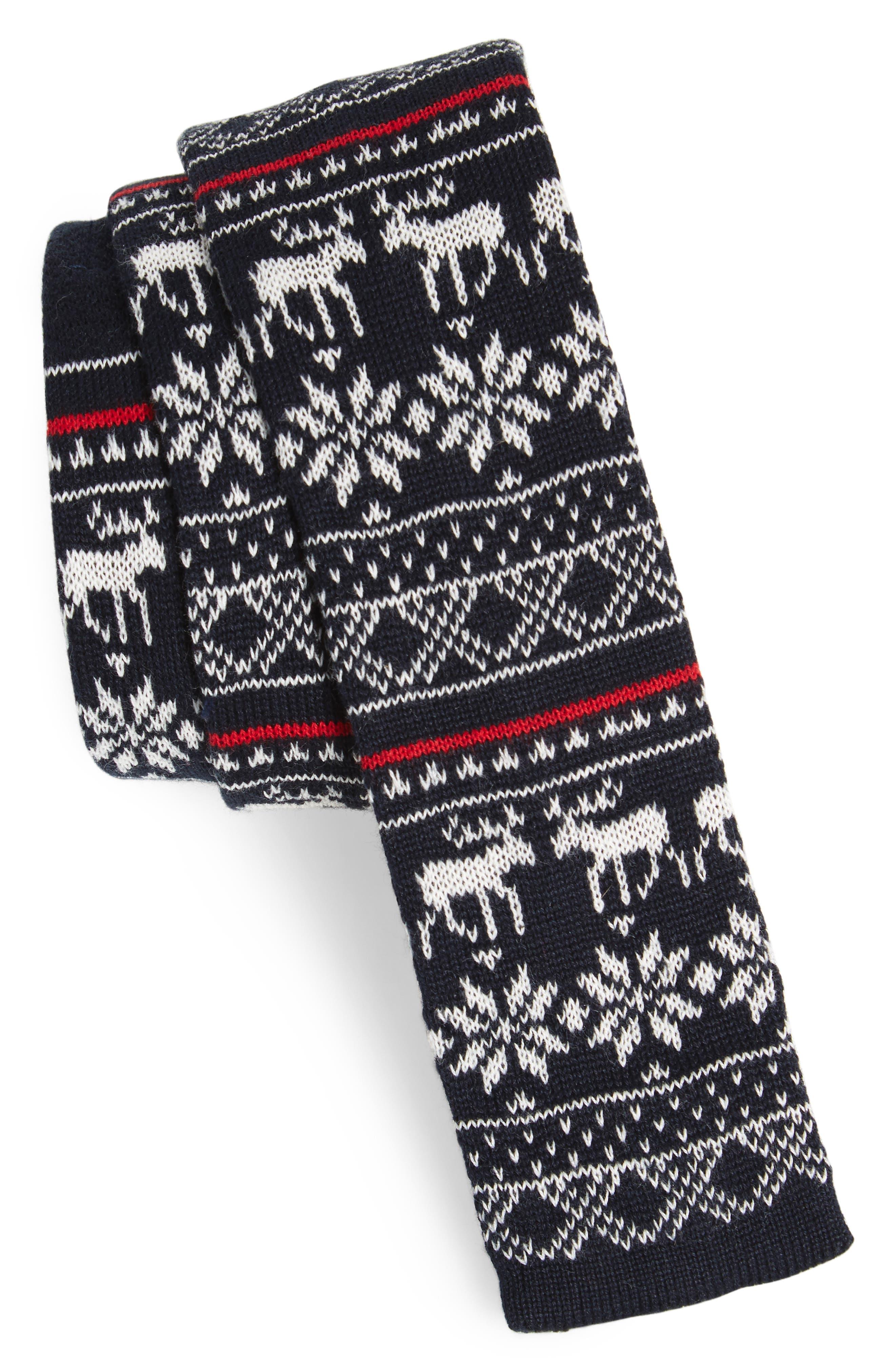 Nordstrom Men's Shop Knit Cotton Tie