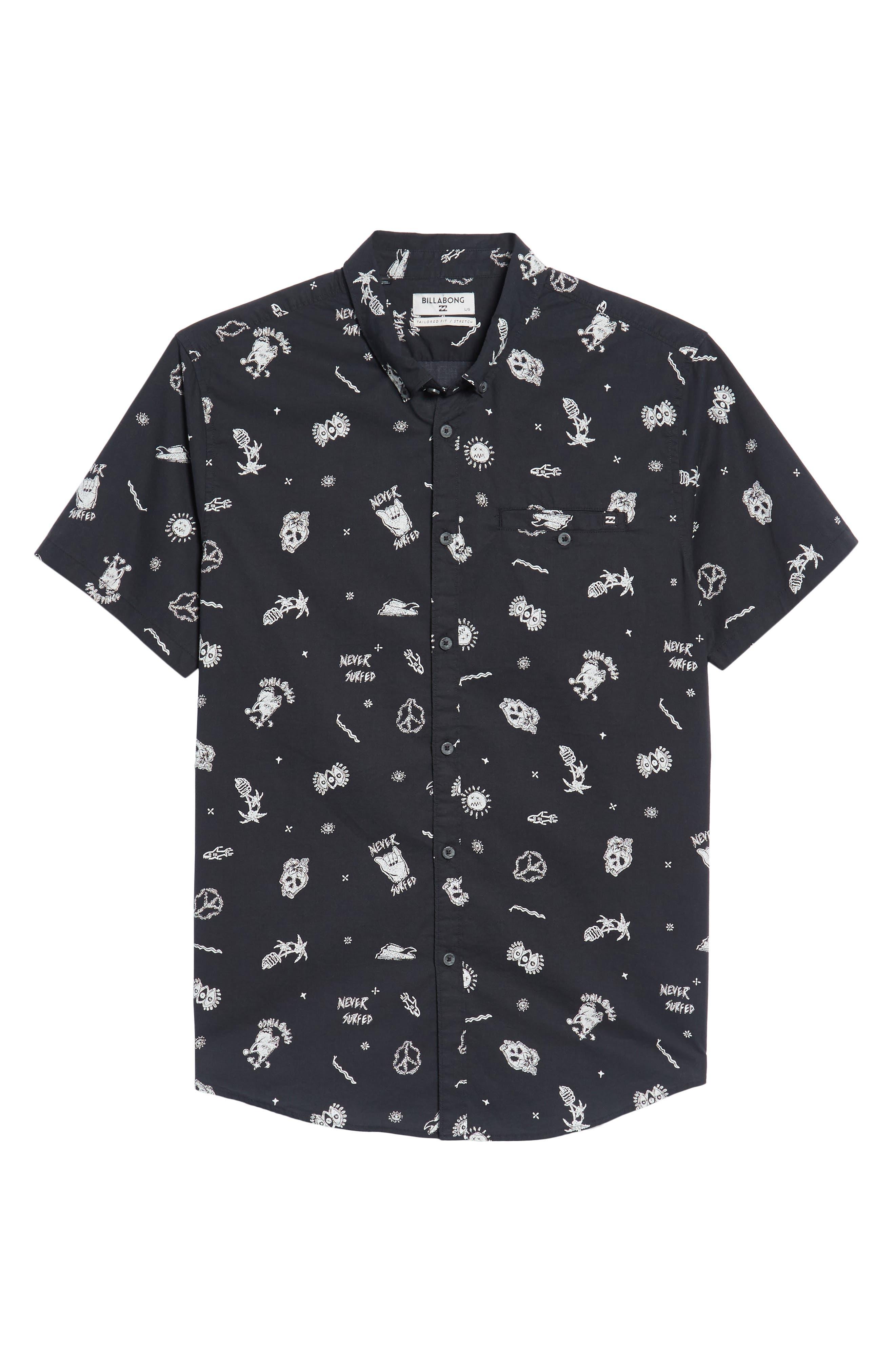 Alternate Image 6  - Billabong Sunday Woven Shirt