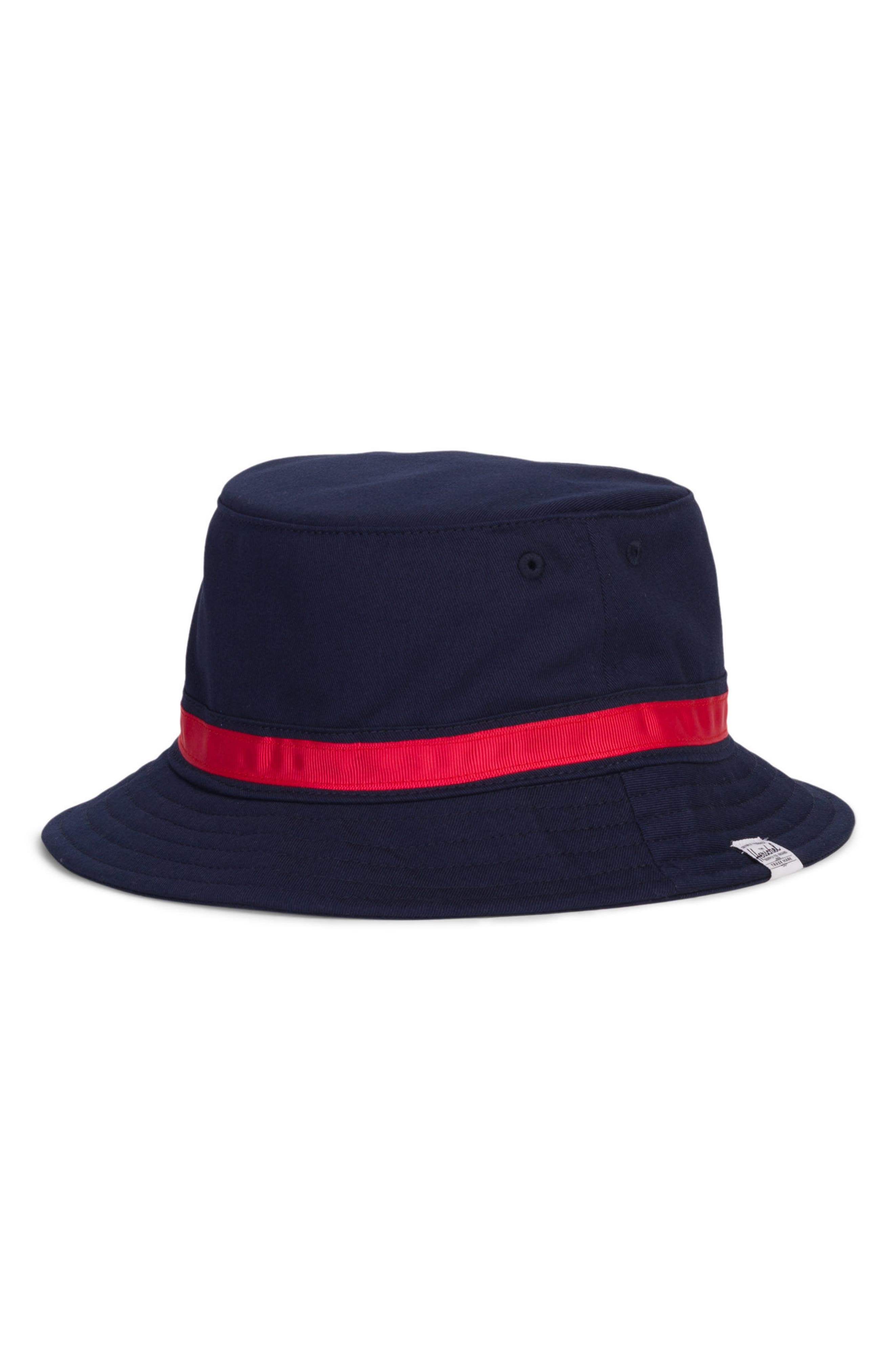 Two-Tone Lake Bucket Hat,                             Alternate thumbnail 2, color,                             Navy/ Red