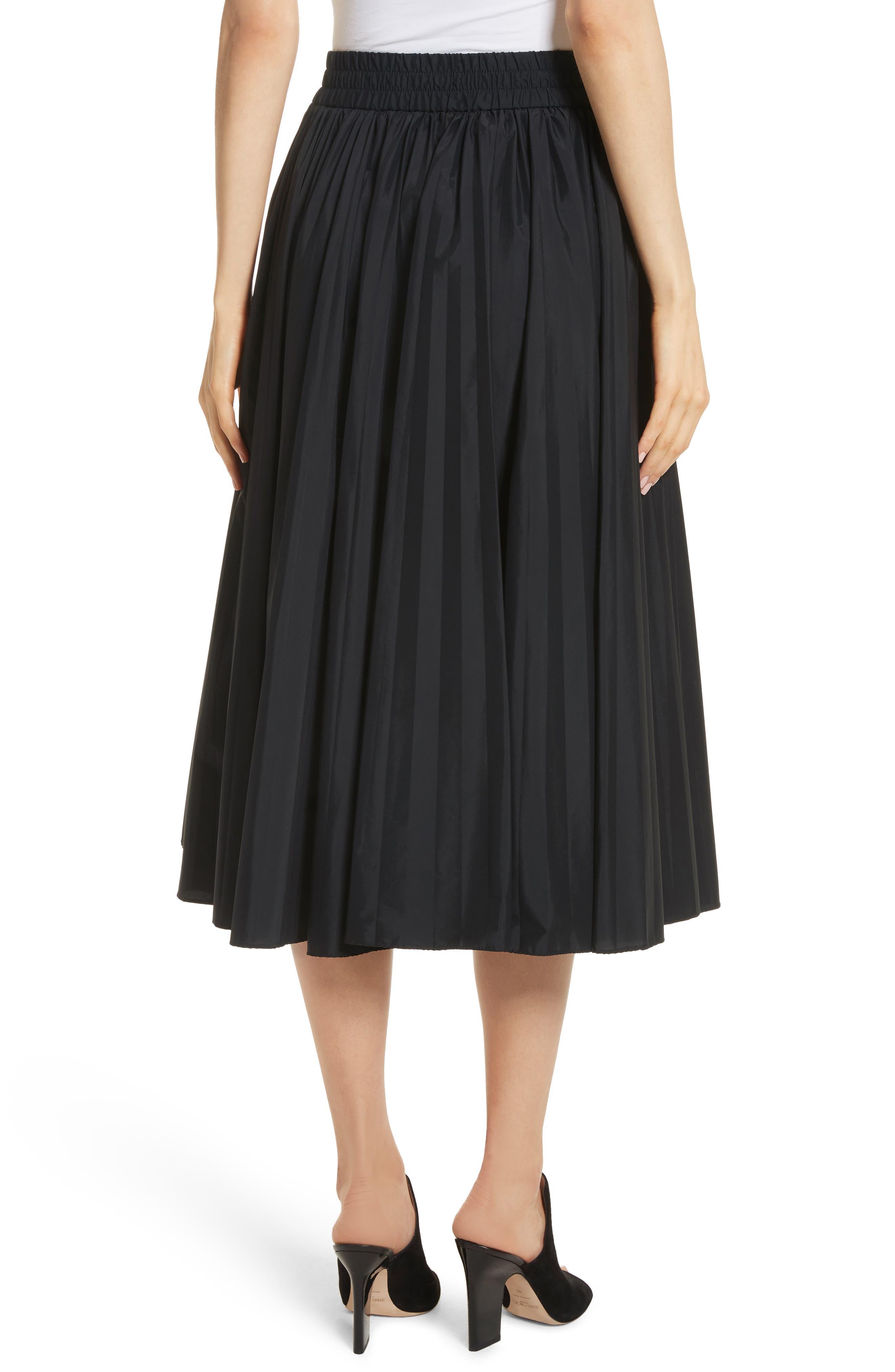 Alternate Image 2  - RED Valentino Pleated Midi Skirt