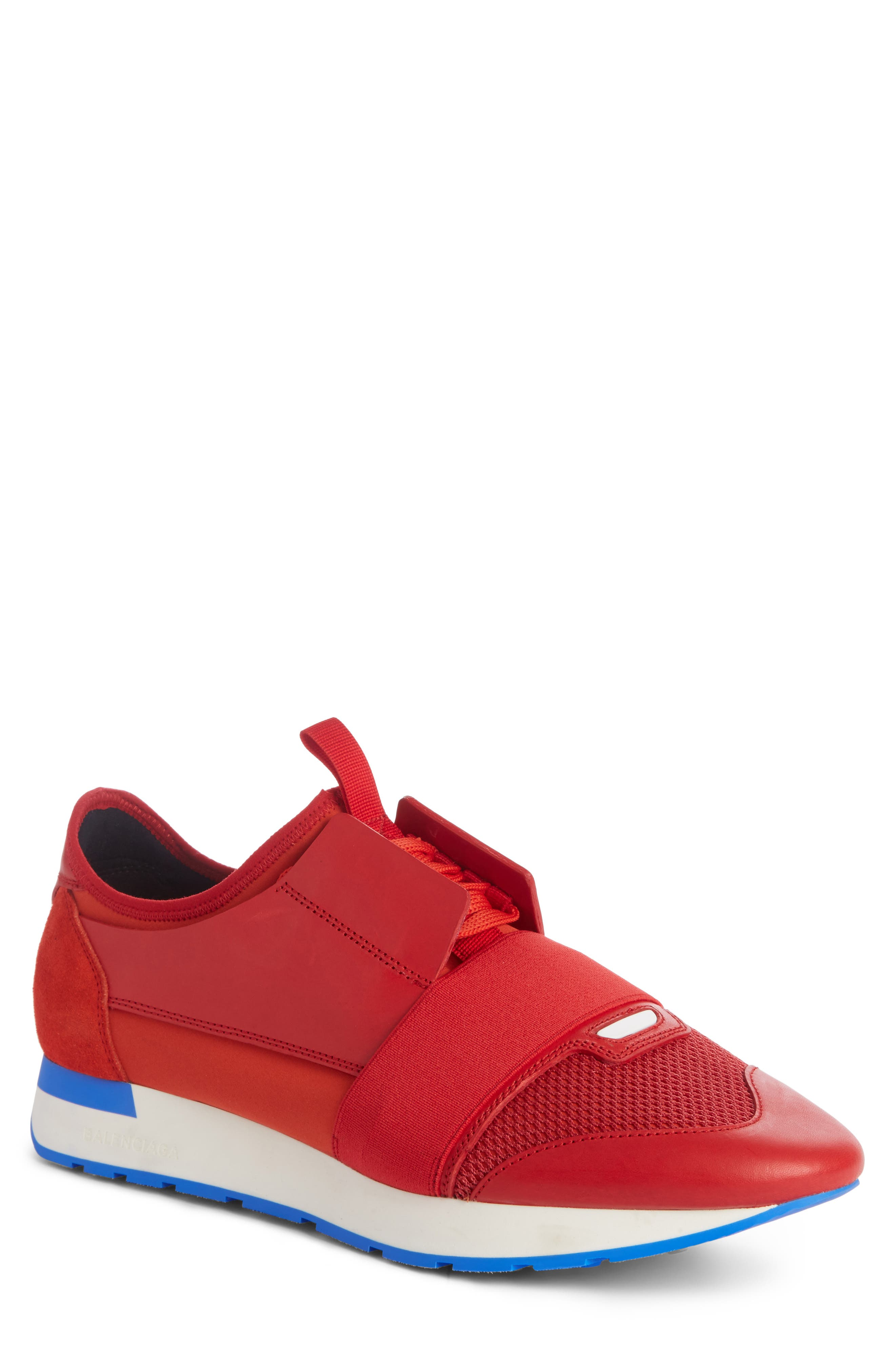 balenciaga red sneakers price