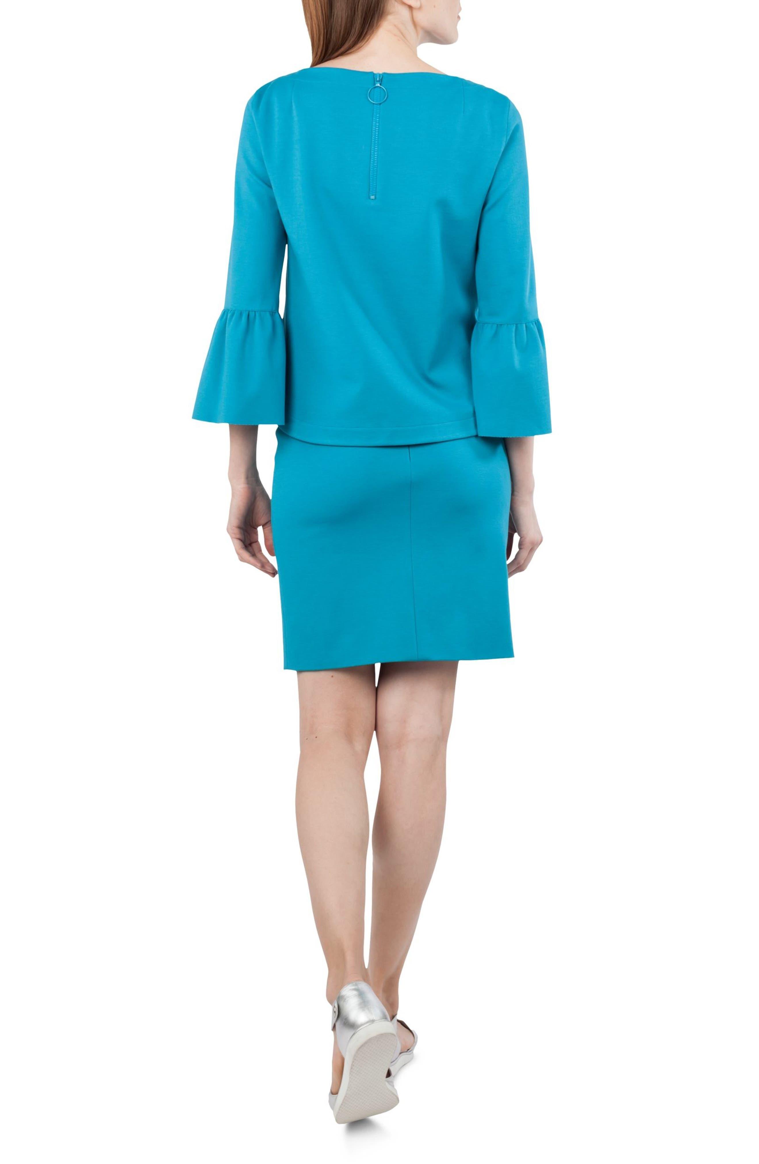 Alternate Image 3  - Akris punto Jersey Miniskirt