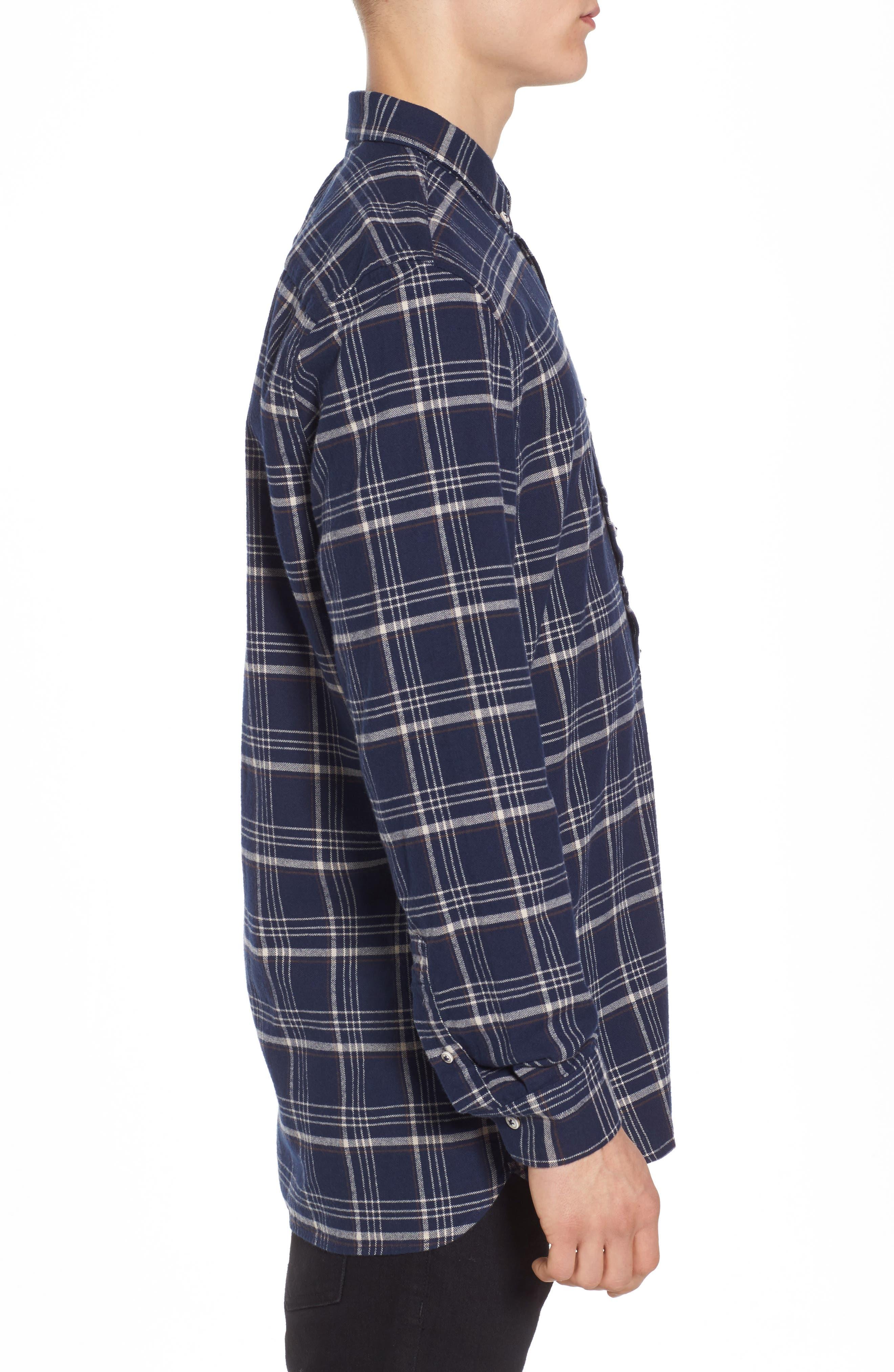 Alternate Image 3  - Barney Cools Cabin Plaid Shirt