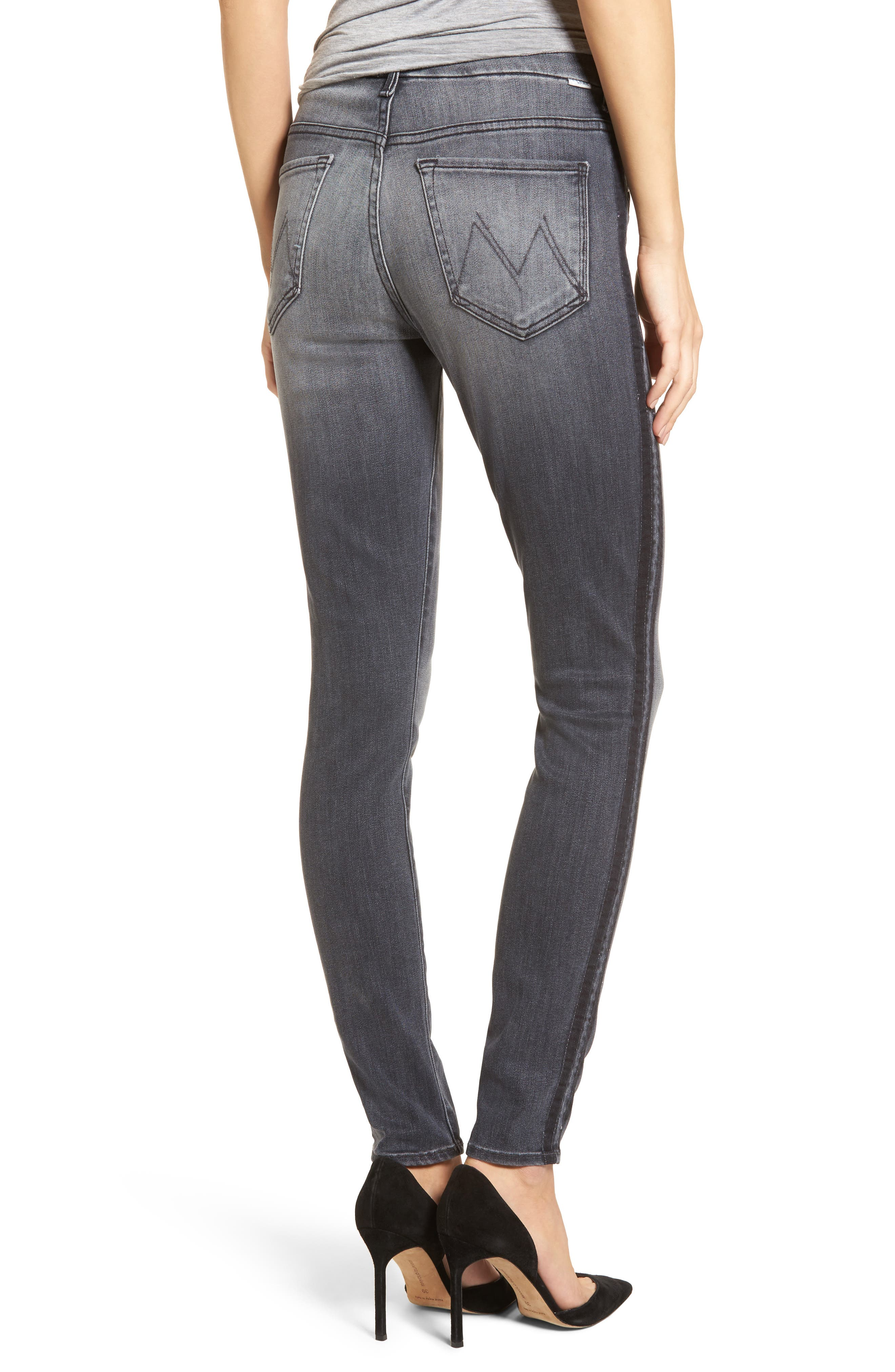The Looker High Waist Skinny Jeans,                             Alternate thumbnail 2, color,                             Miss Moody Two Shoes Racer