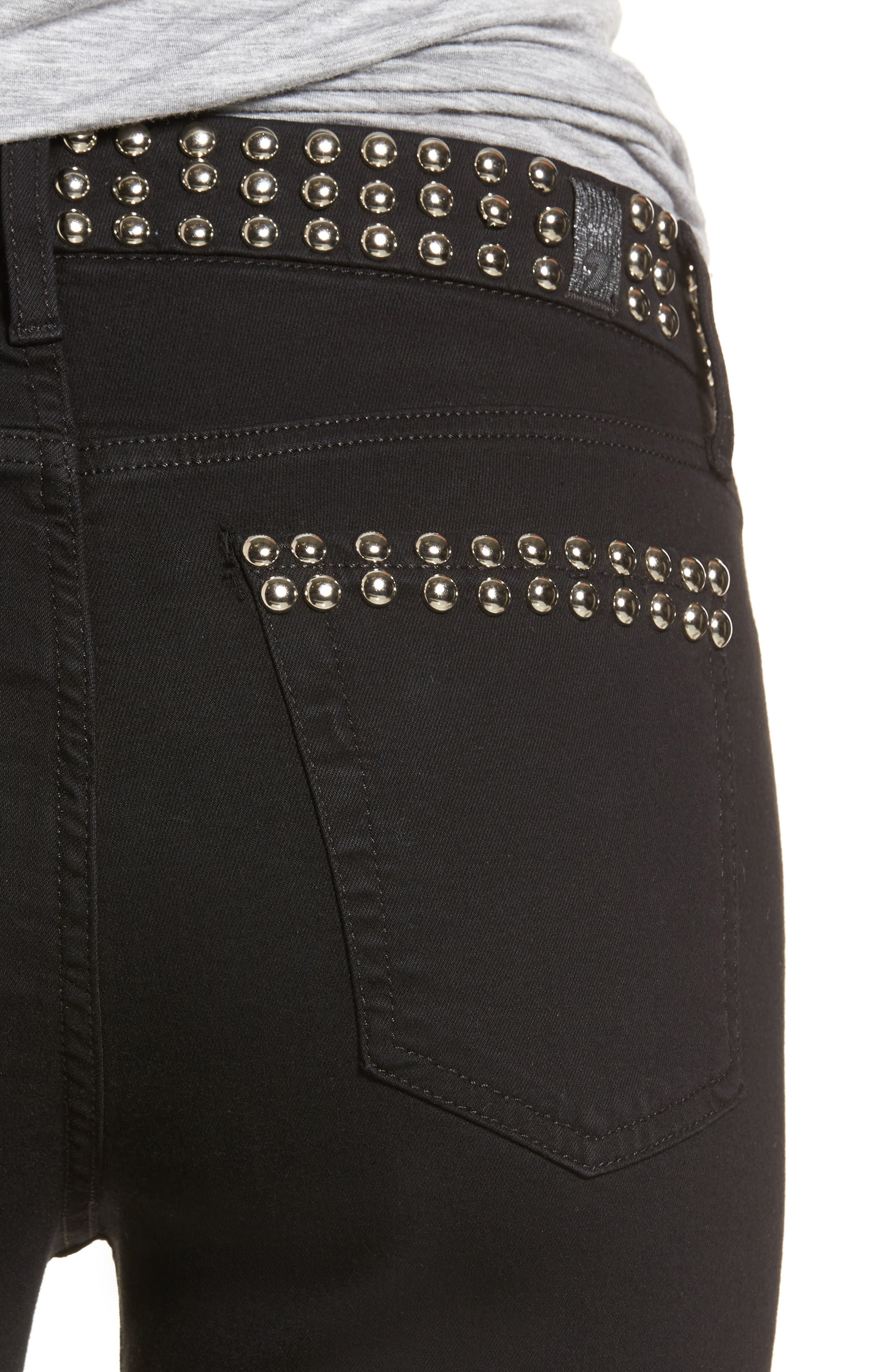 Alternate Image 4  - 7 For All Mankind® The Ankle Skinny Jeans