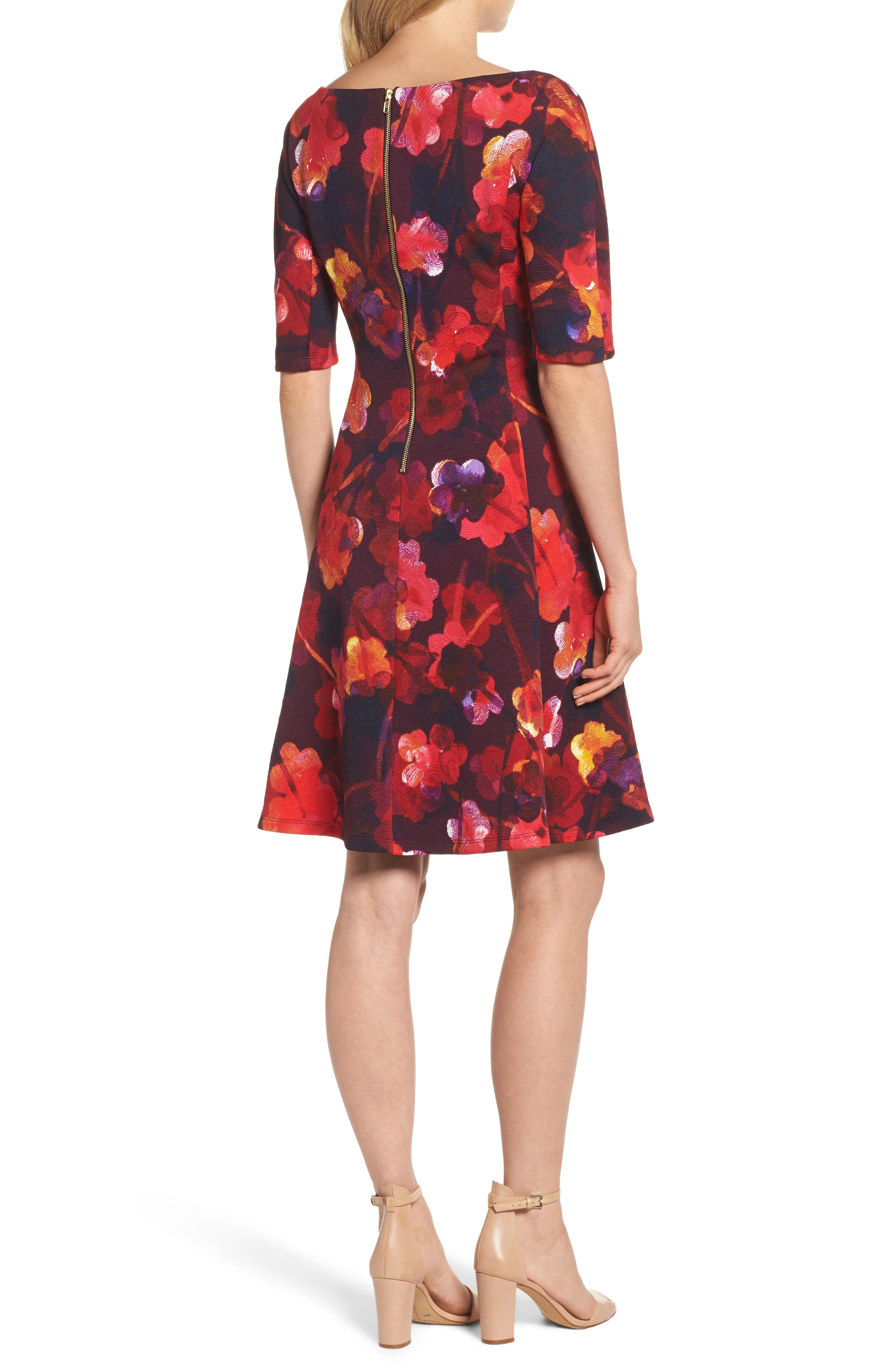 Alternate Image 2  - Maggy London Fit & Flare Dress