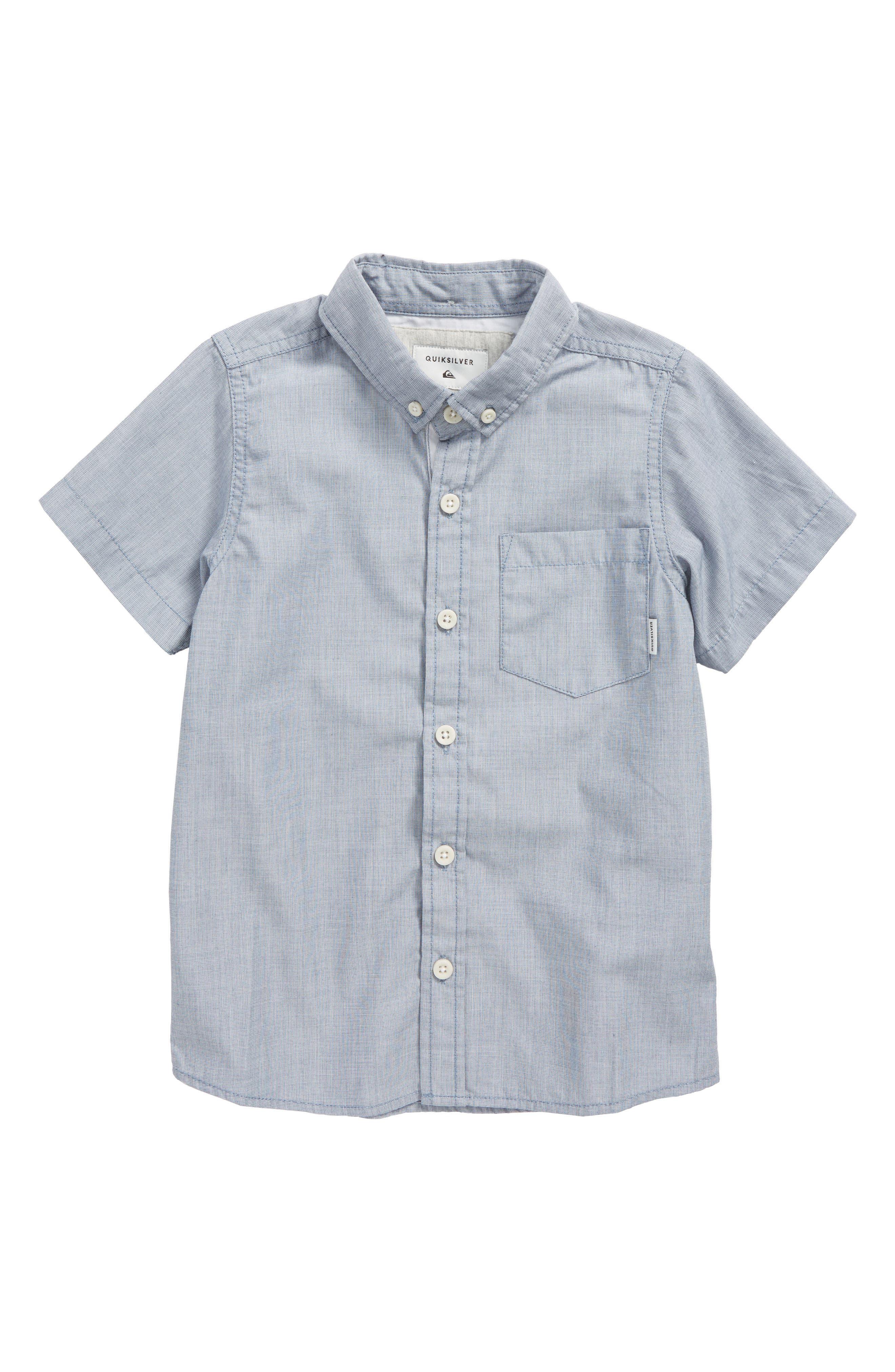 Quiksilver Everyday Wilsden Woven Shirt (Toddler Boys & Little Boys)