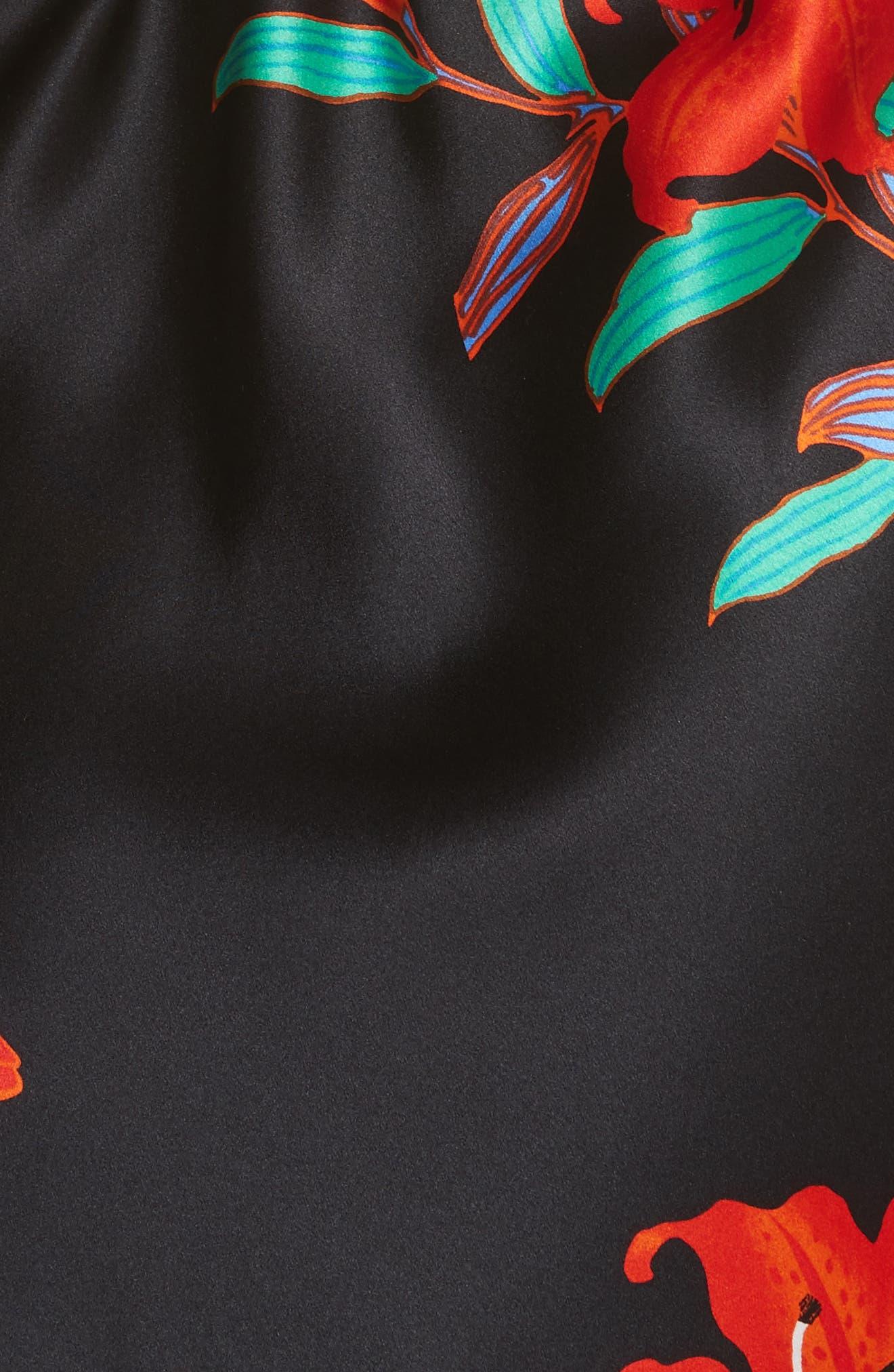 Alternate Image 5  - Diane von Furstenberg Floral Print Wrap Silk Dress