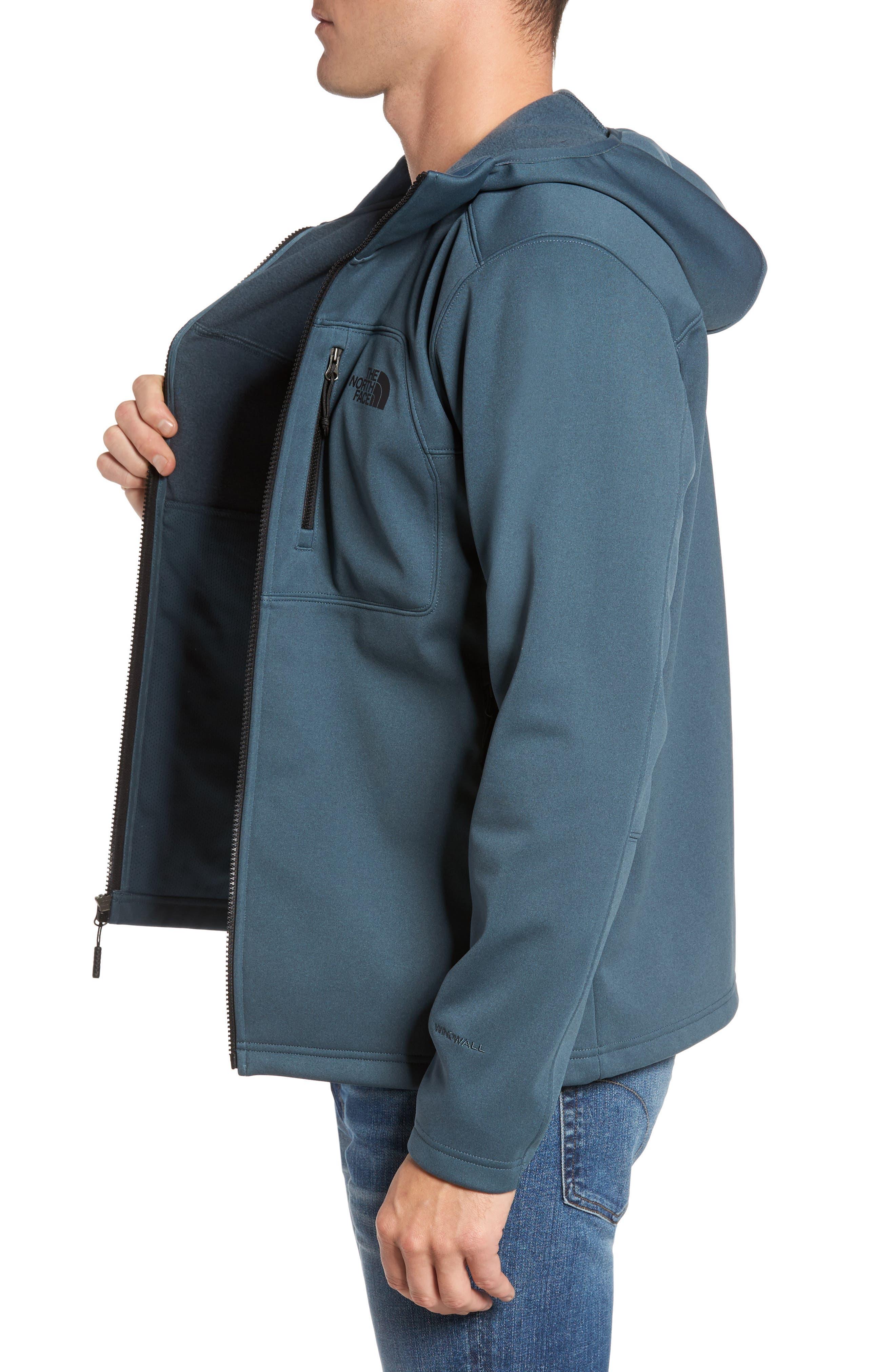 Apex Risor Jacket,                             Alternate thumbnail 3, color,                             Conquer Blue Heather