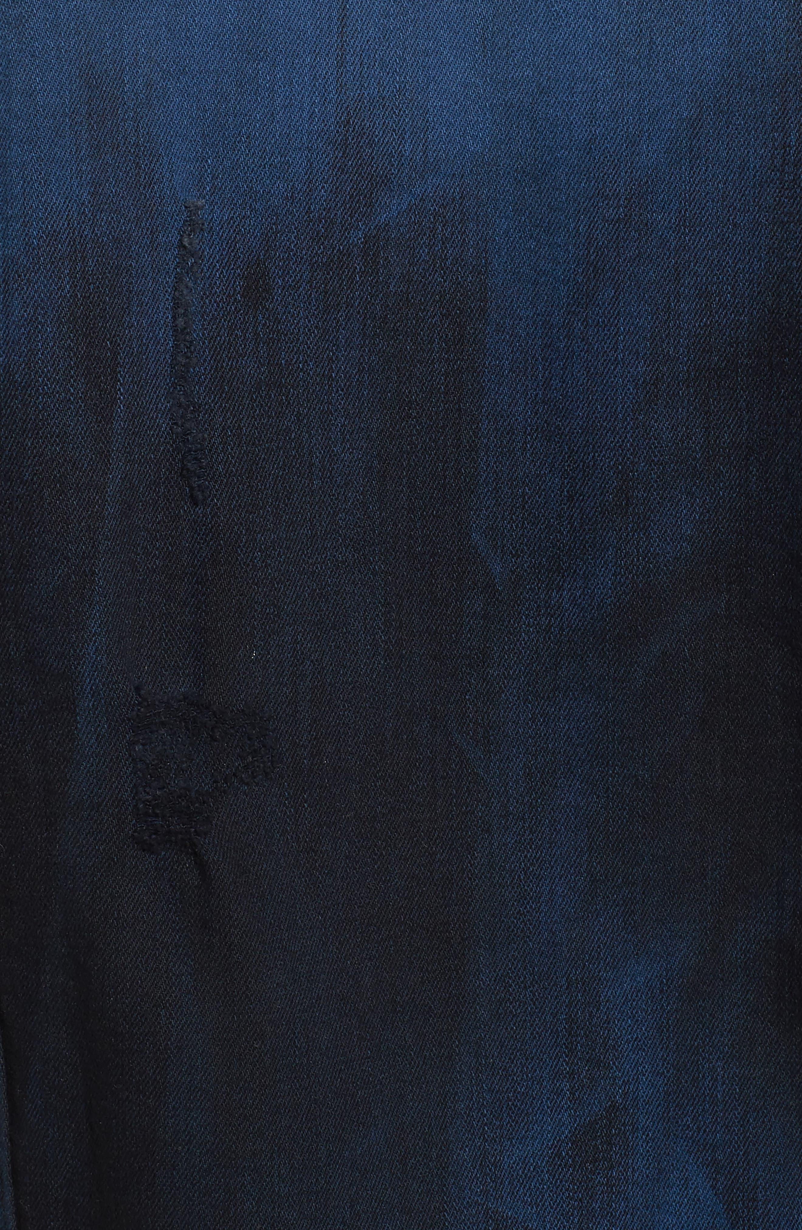 Alternate Image 5  - True Religion Brand Jeans Dylan Renegade Denim Jacket