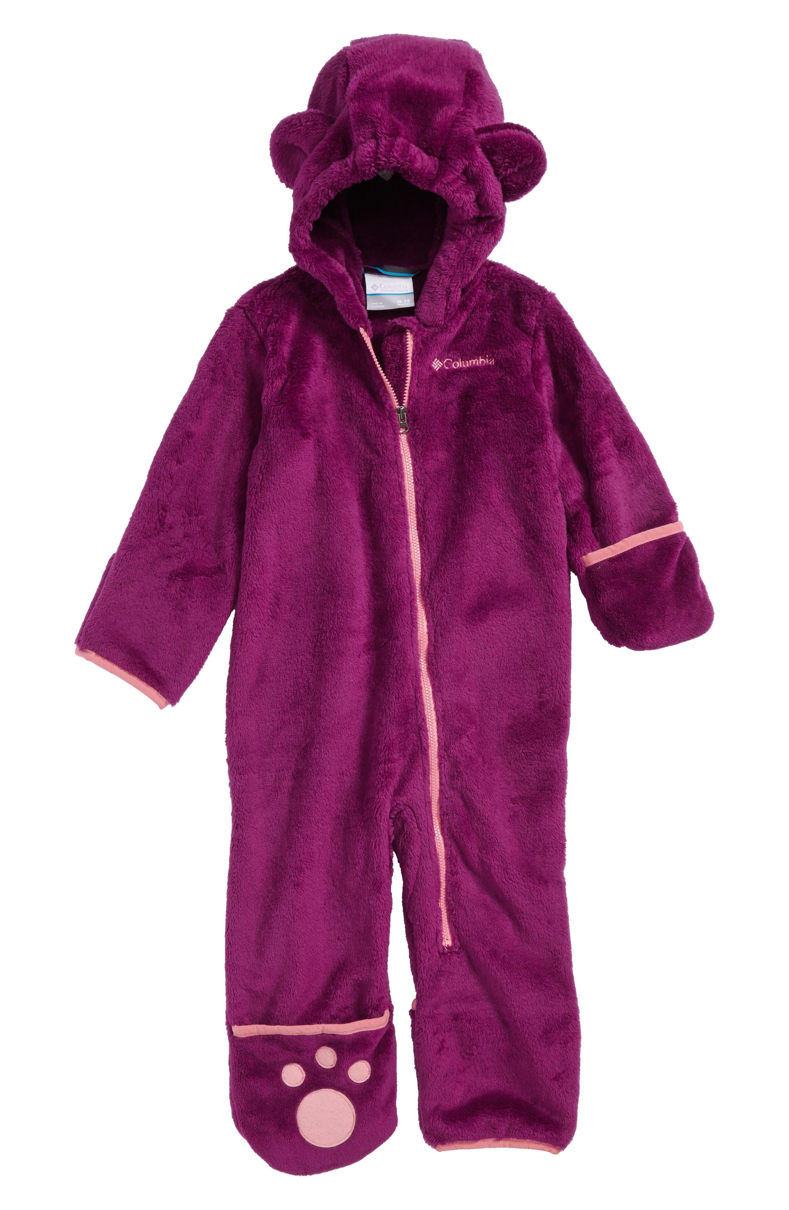 Columbia Foxy II Fleece Snowsuit (Baby Girls)