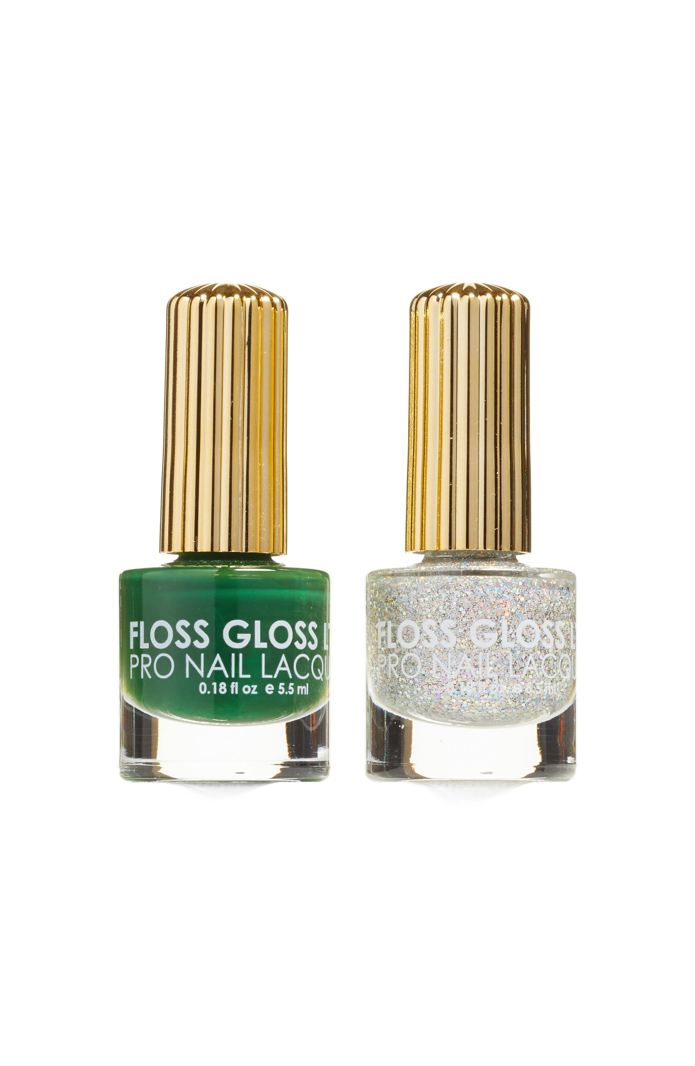 Floss Gloss Dimepiece & Night Palm Set of 2 Nail Lacquers