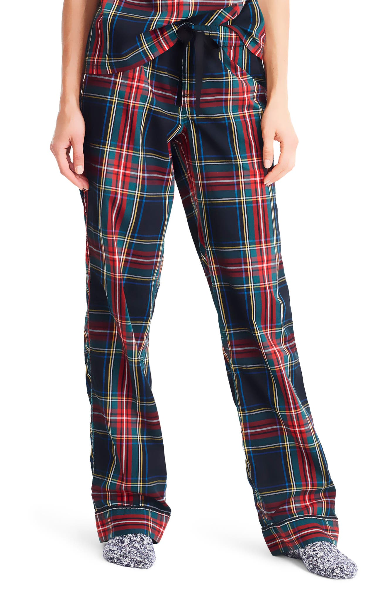 J.Crew Blackwatch Stuart Tartan Pajama Pants