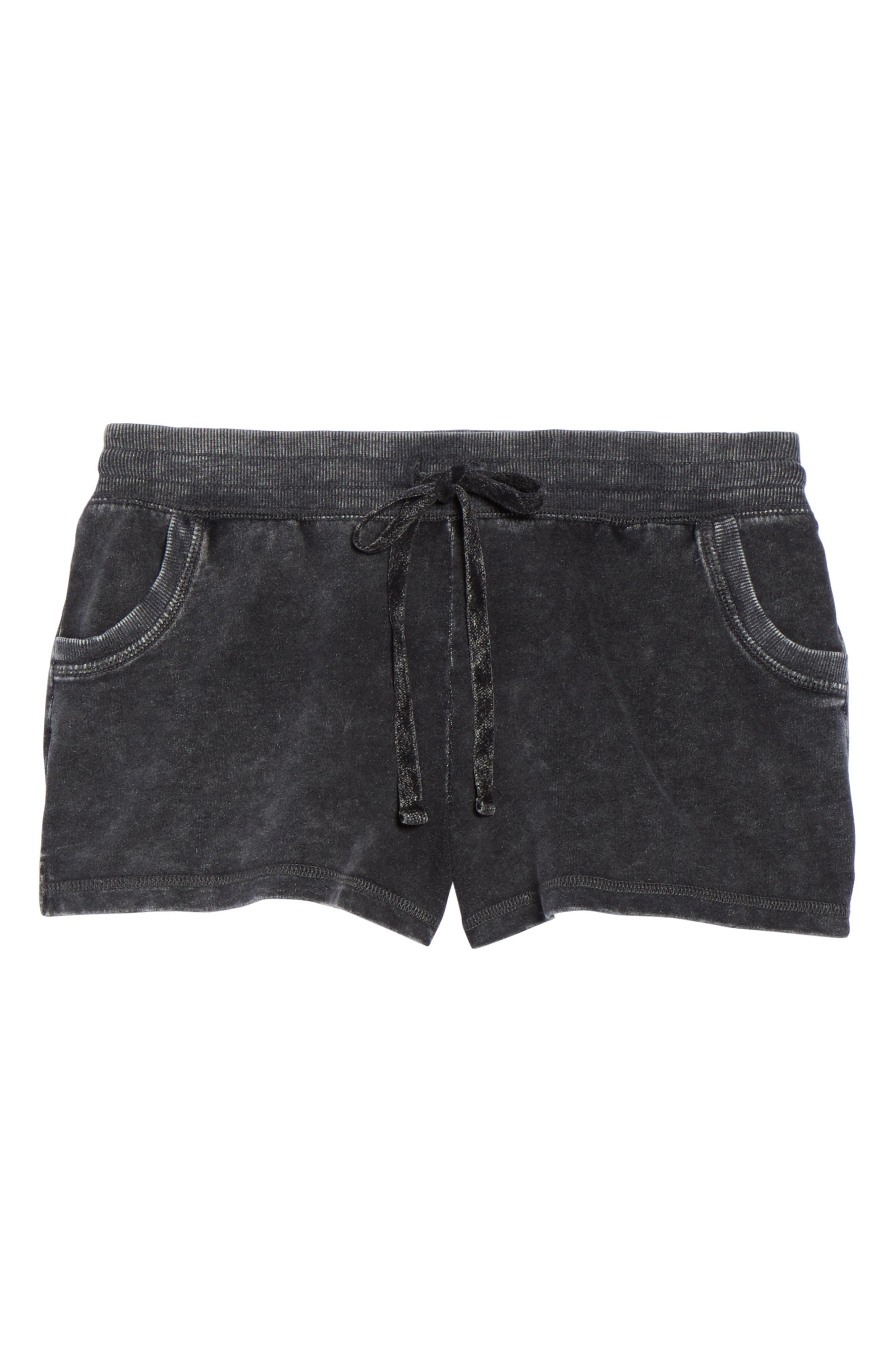 Lounge Shorts,                             Alternate thumbnail 4, color,                             Black