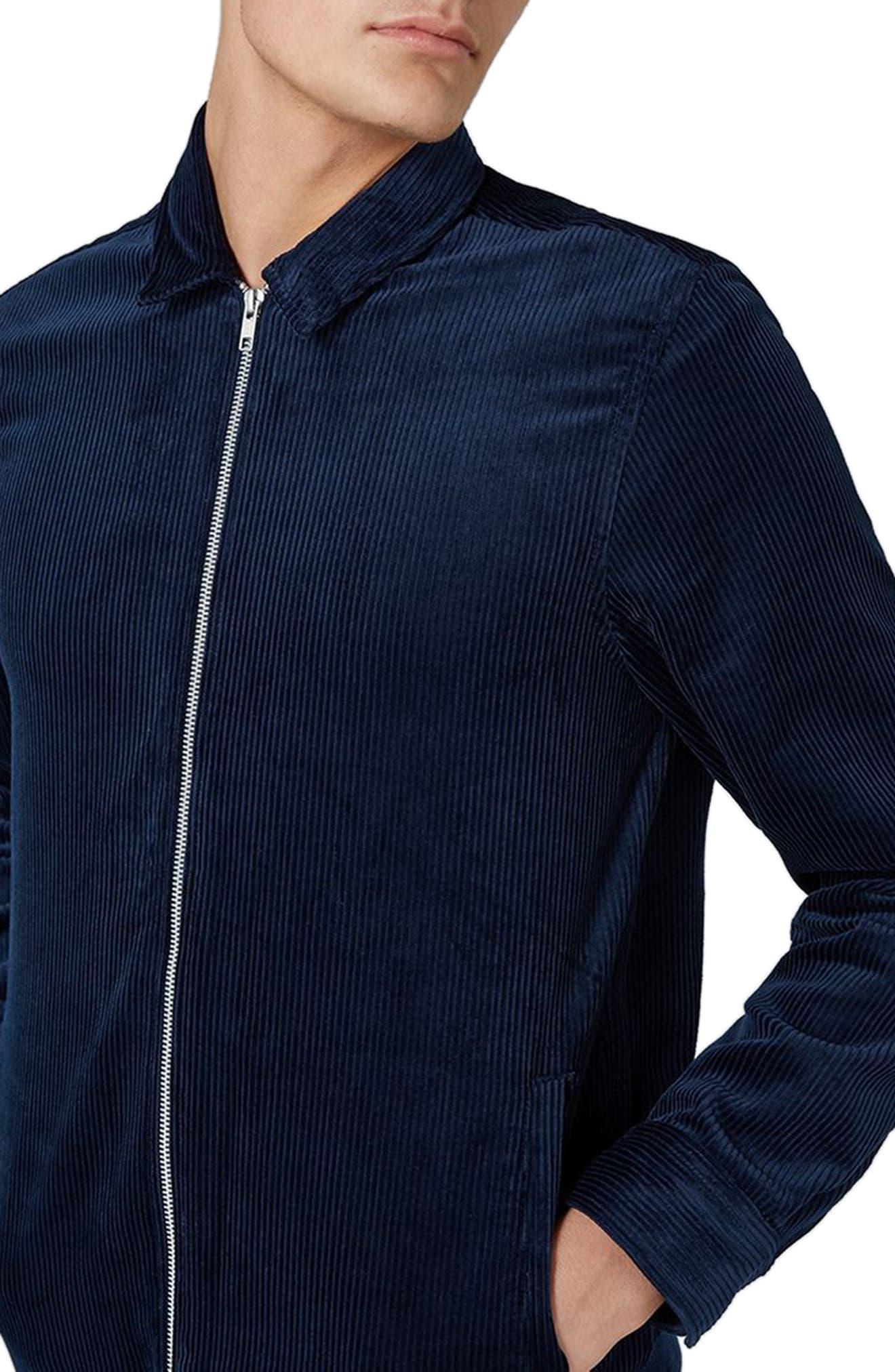 Alternate Image 3  - Topman Corduroy Shirt Jacket