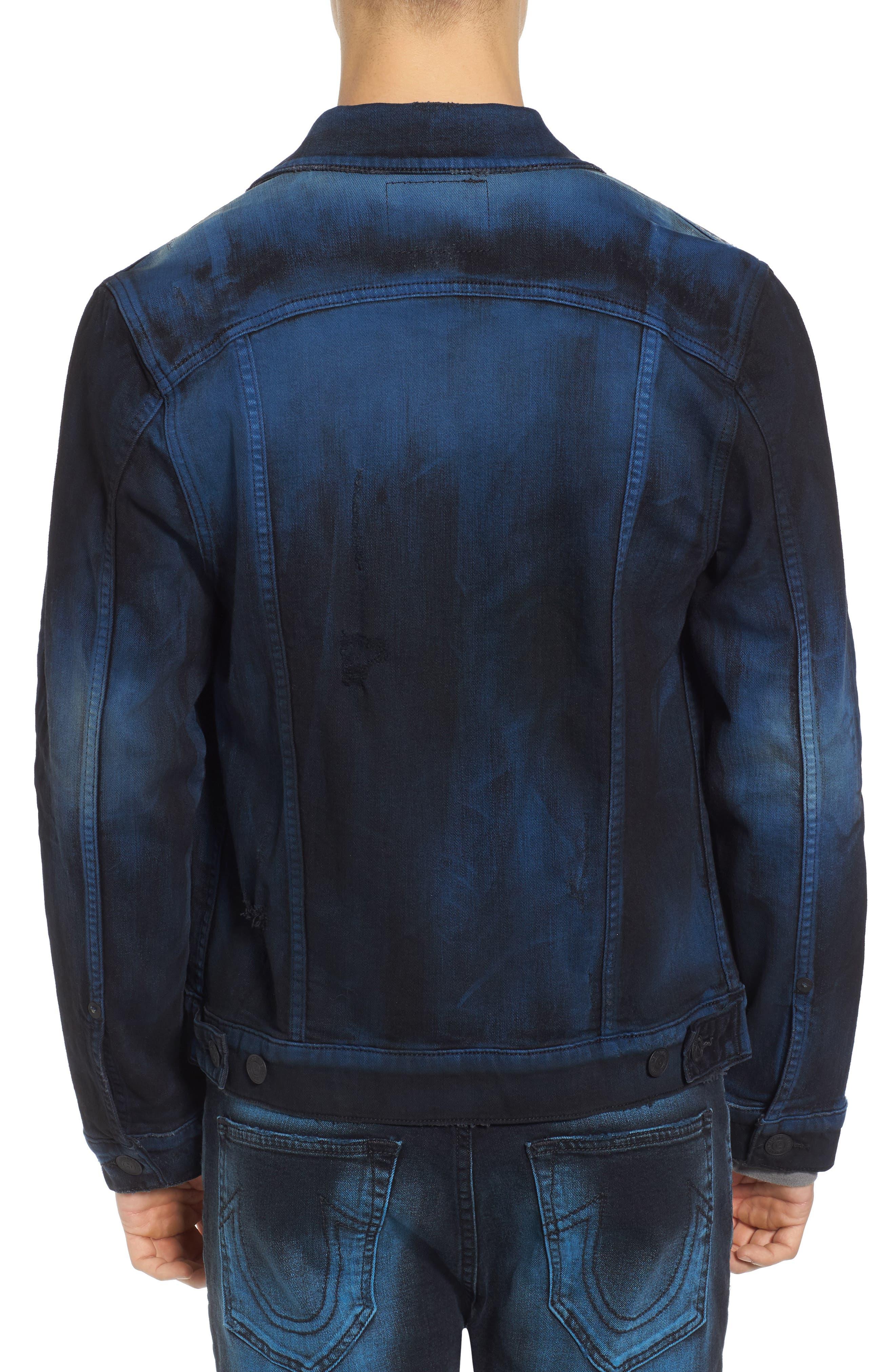 Alternate Image 2  - True Religion Brand Jeans Dylan Renegade Denim Jacket