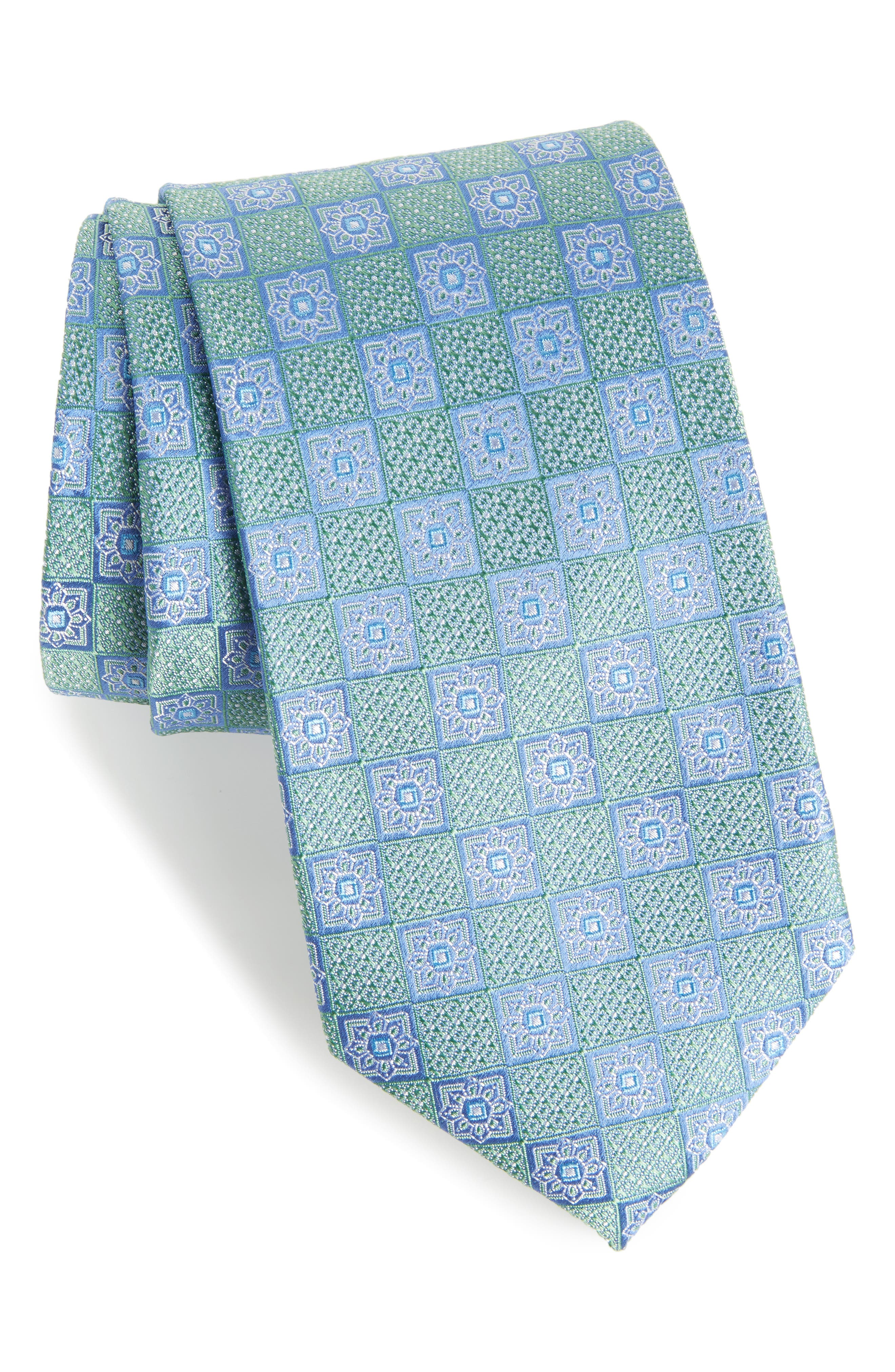 Nordstrom Men's Shop Settala Medallion Silk Tie