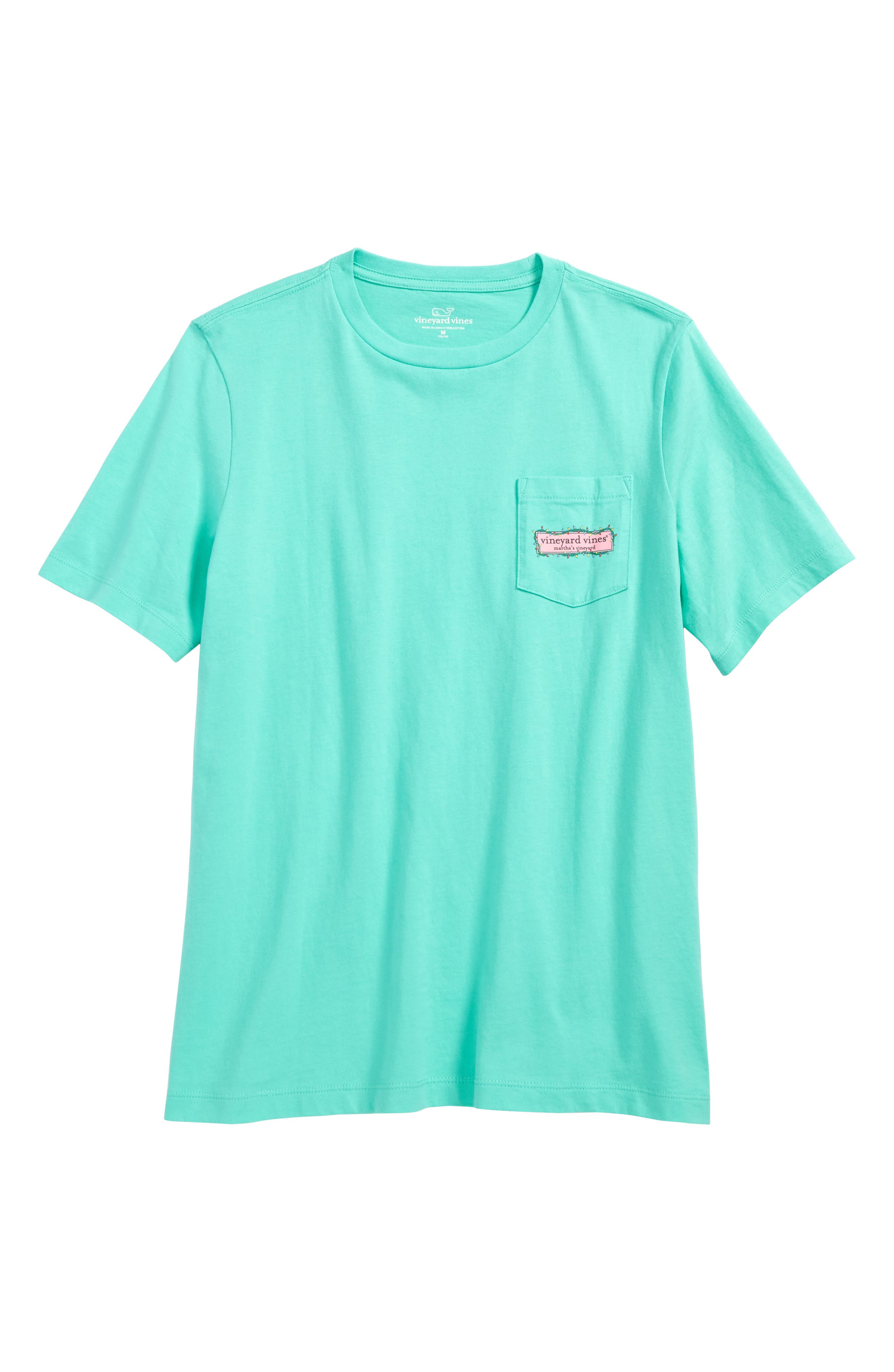 vineyard vines Box Lights Logo T-Shirt (Big Boys)