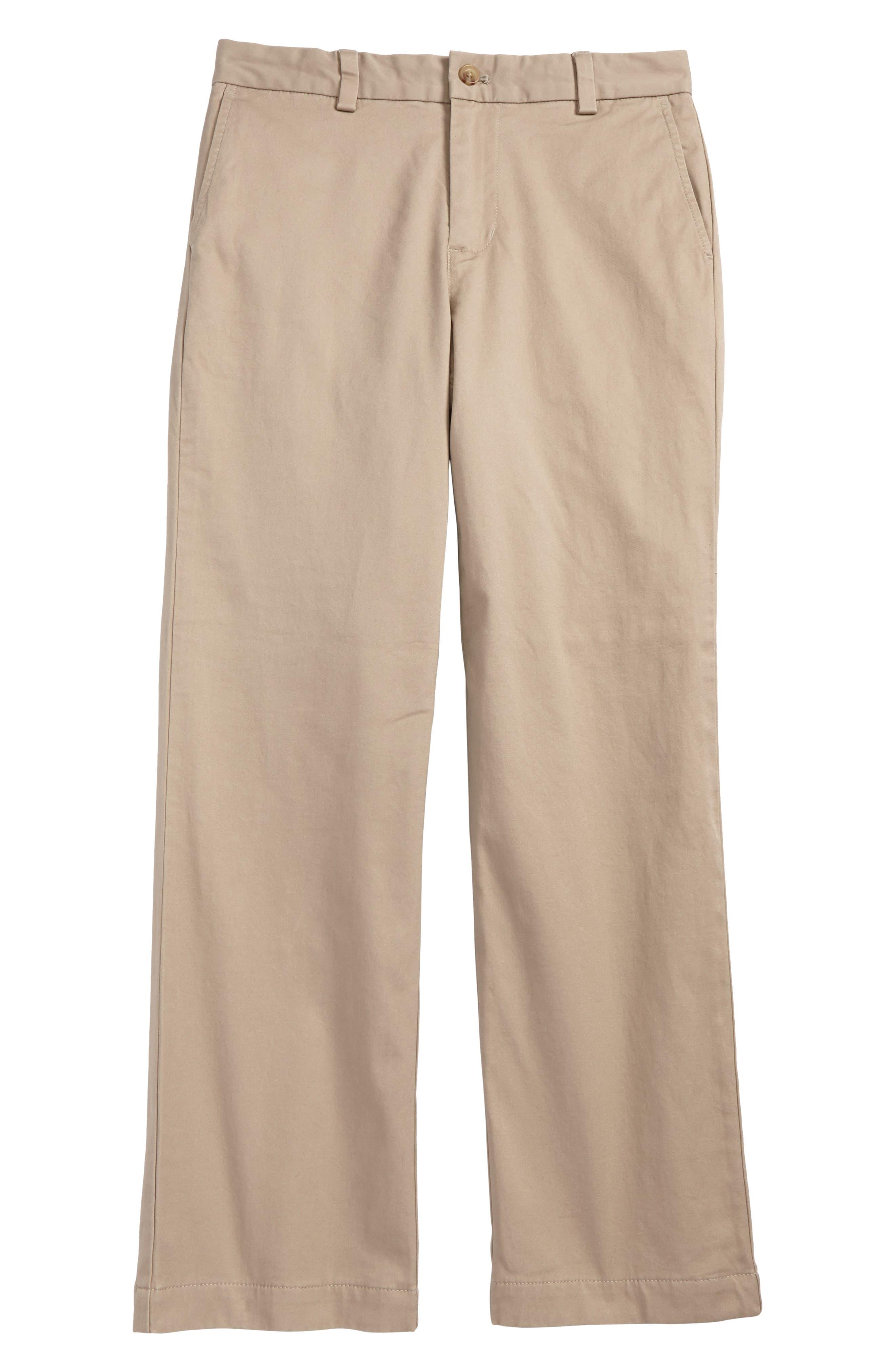 Breaker Flannel Lined Pants,                         Main,                         color, Khaki