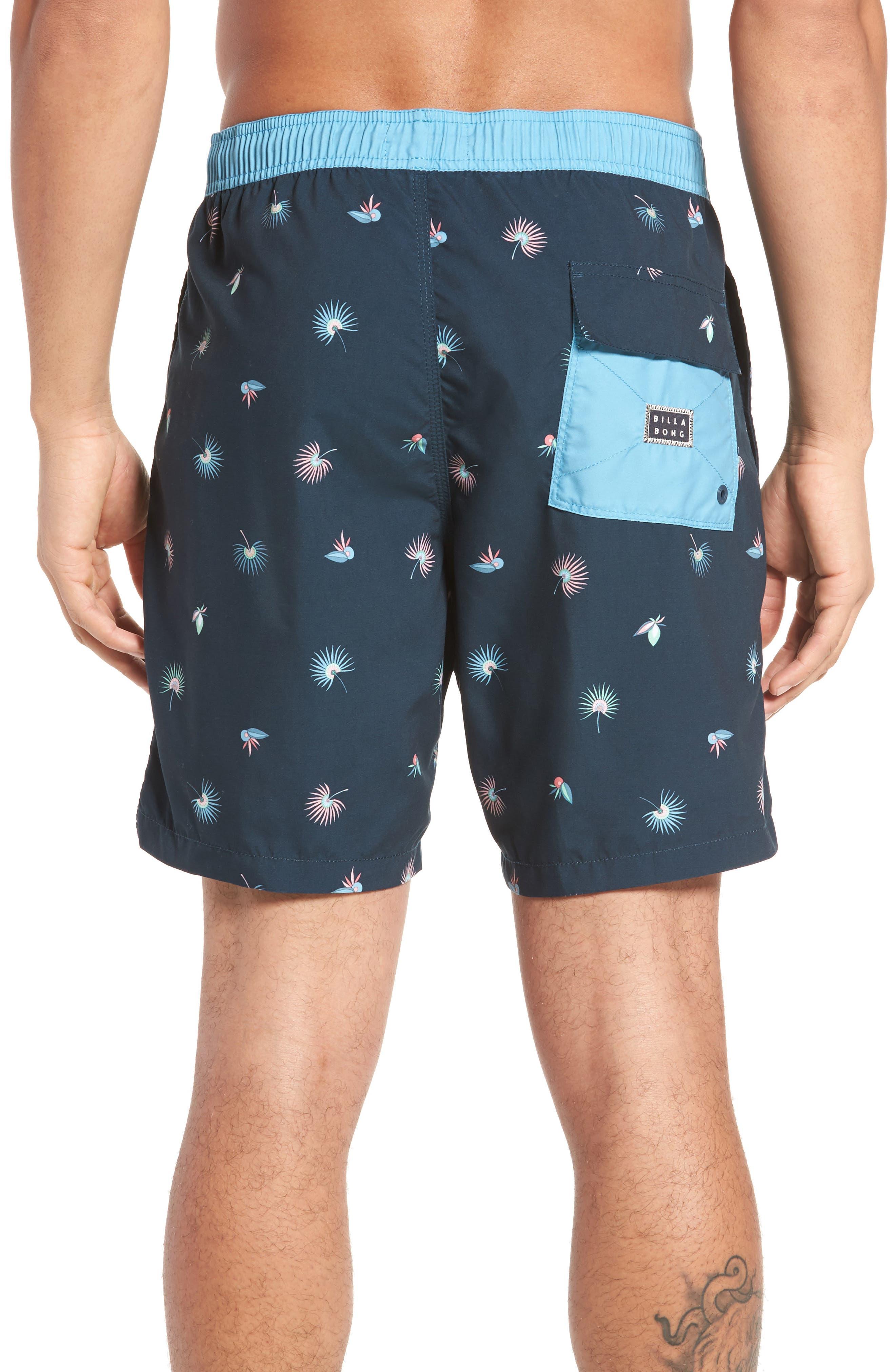 Tribong Layback Board Shorts,                             Alternate thumbnail 2, color,                             Blue