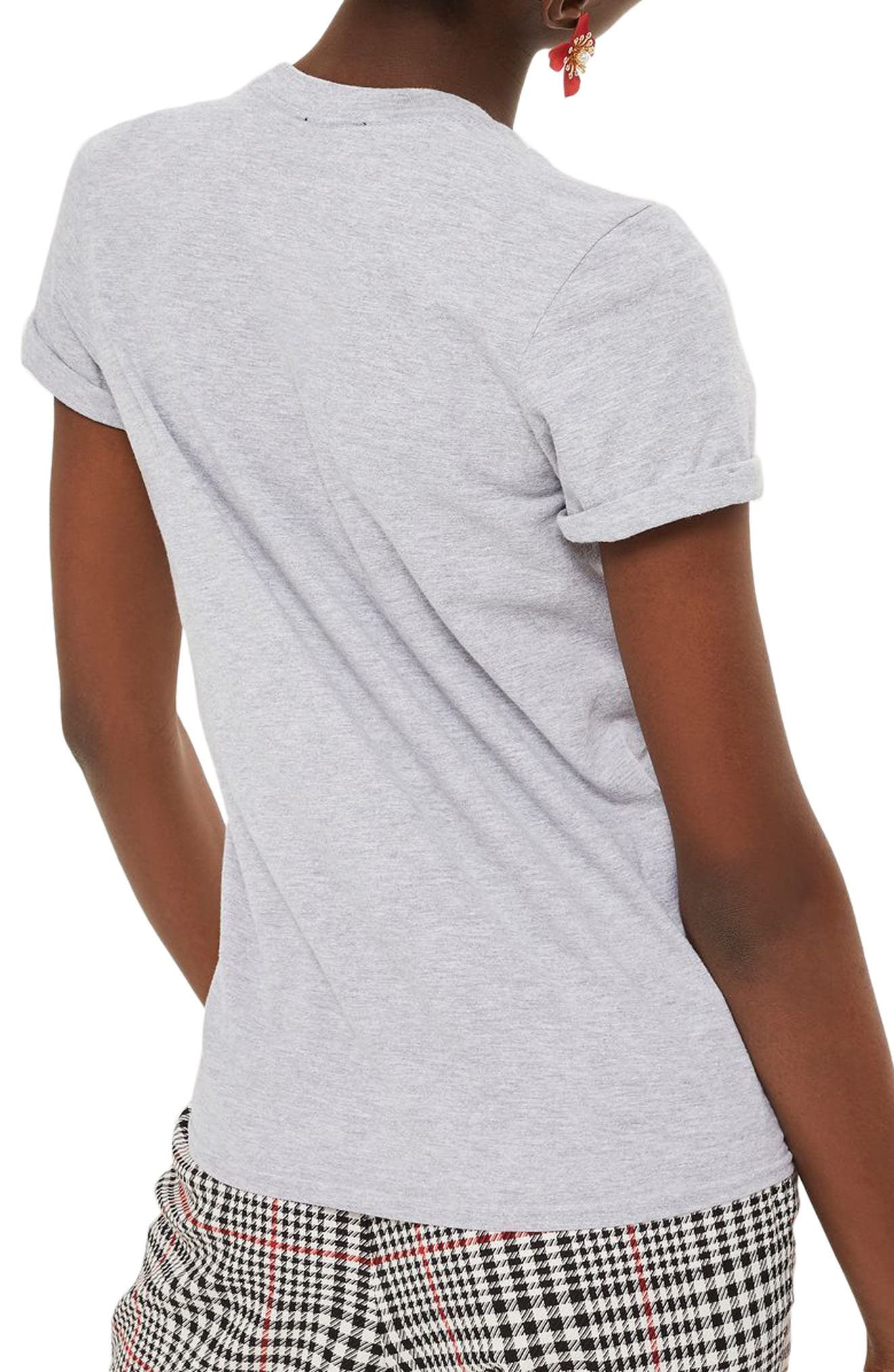 Amour Graphic Tee,                             Alternate thumbnail 2, color,                             Grey Multi