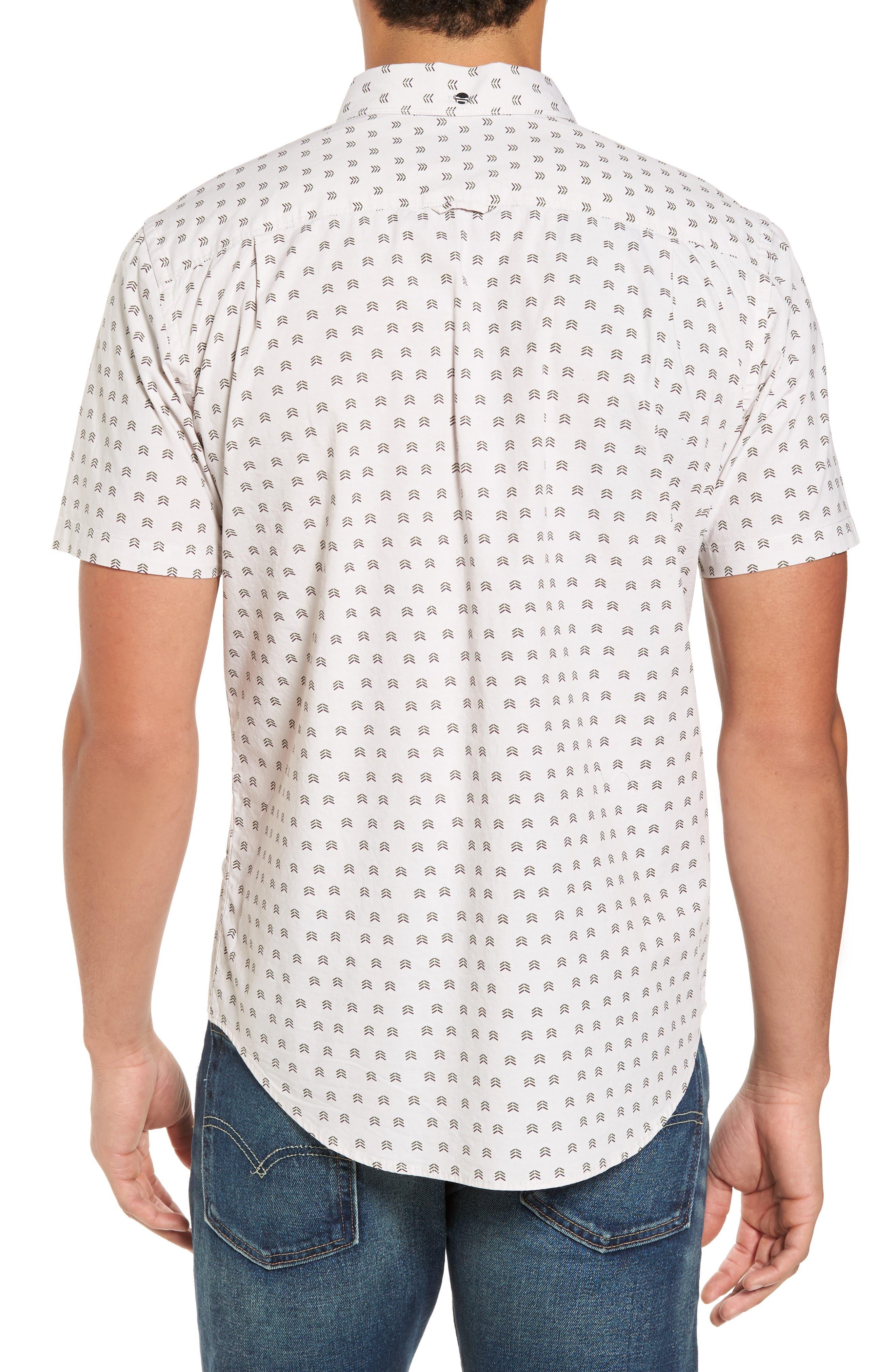 Brooks Woven Shirt,                             Alternate thumbnail 2, color,                             Light Orewood Brown