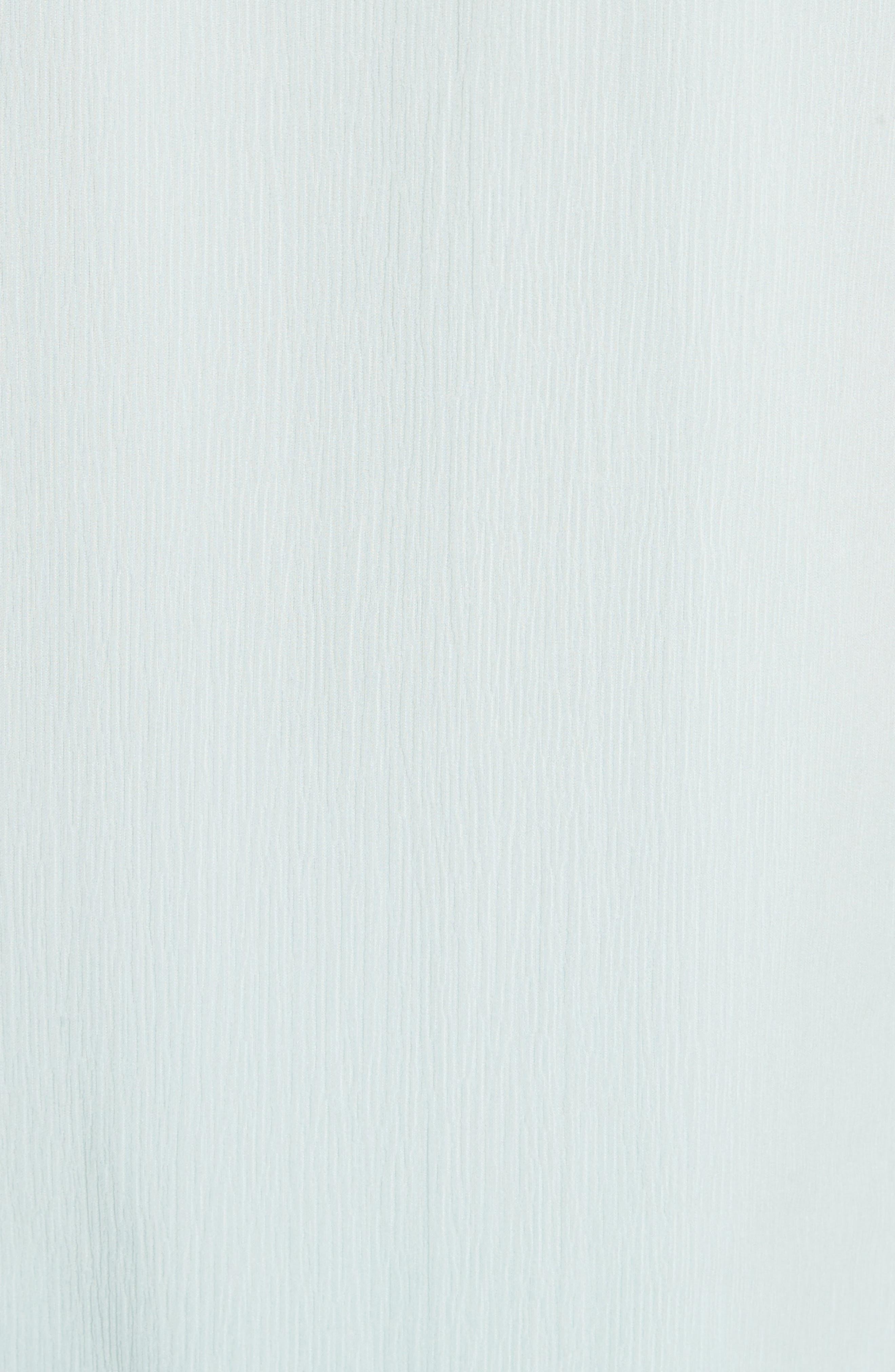 Alternate Image 5  - St. John Collection Crinkle Silk Georgette Blouse