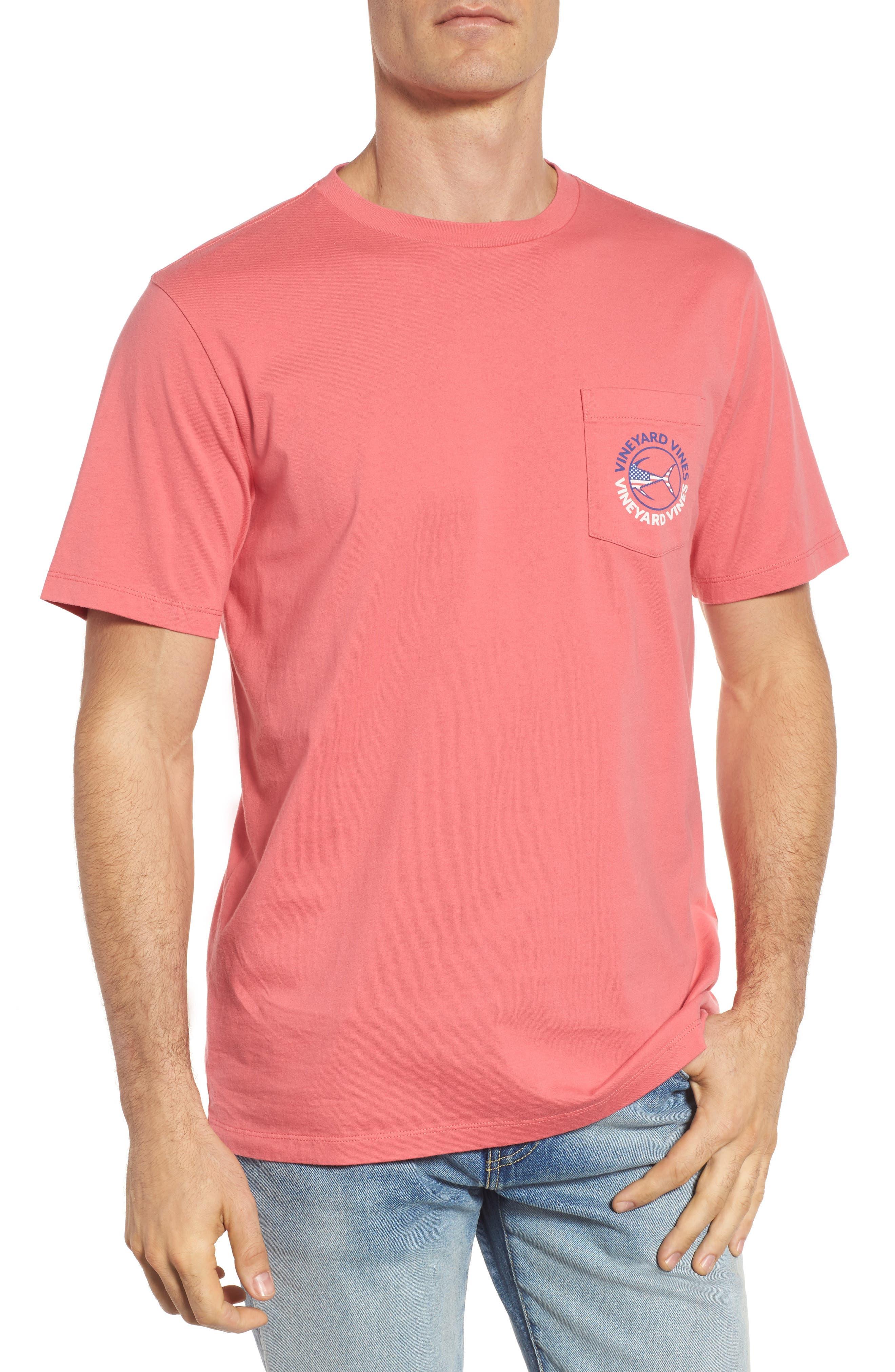 Alternate Image 2  - vineyard vines USA Tuna Graphic Pocket T-Shirt