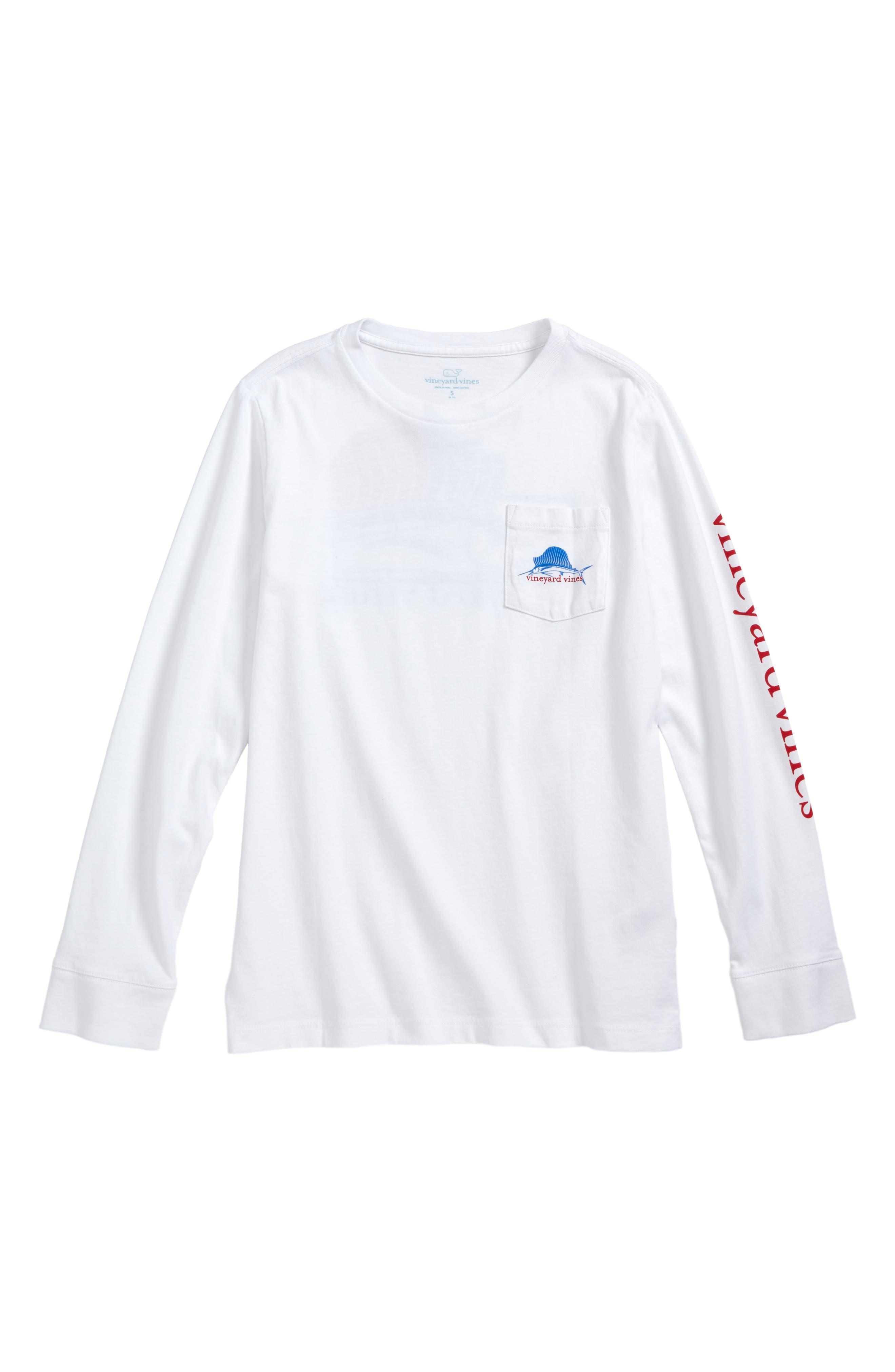 vineyard vines American Sailfish T-Shirt (Big Boys)