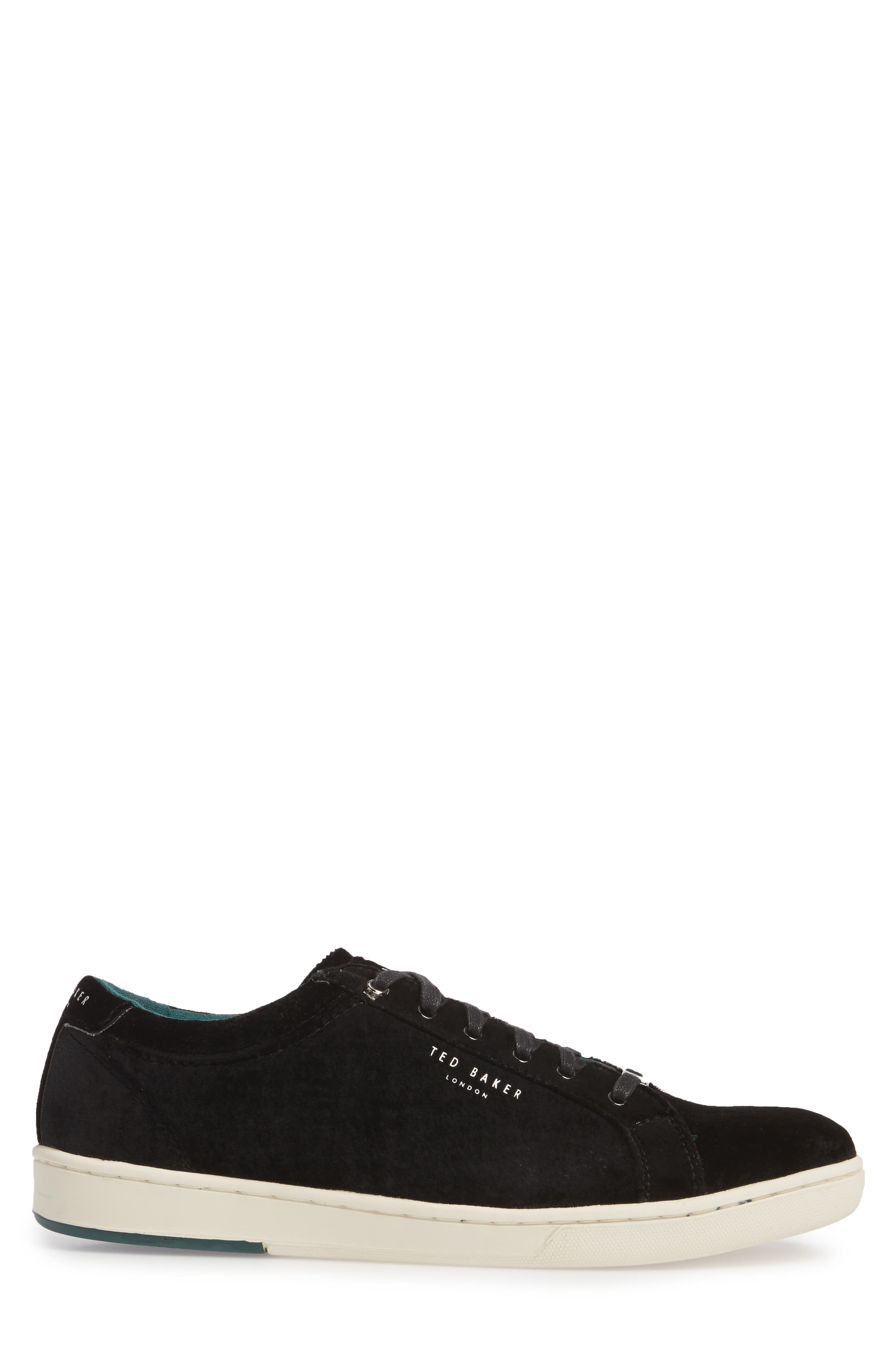 Lambrt Sneaker,                             Alternate thumbnail 3, color,                             Black
