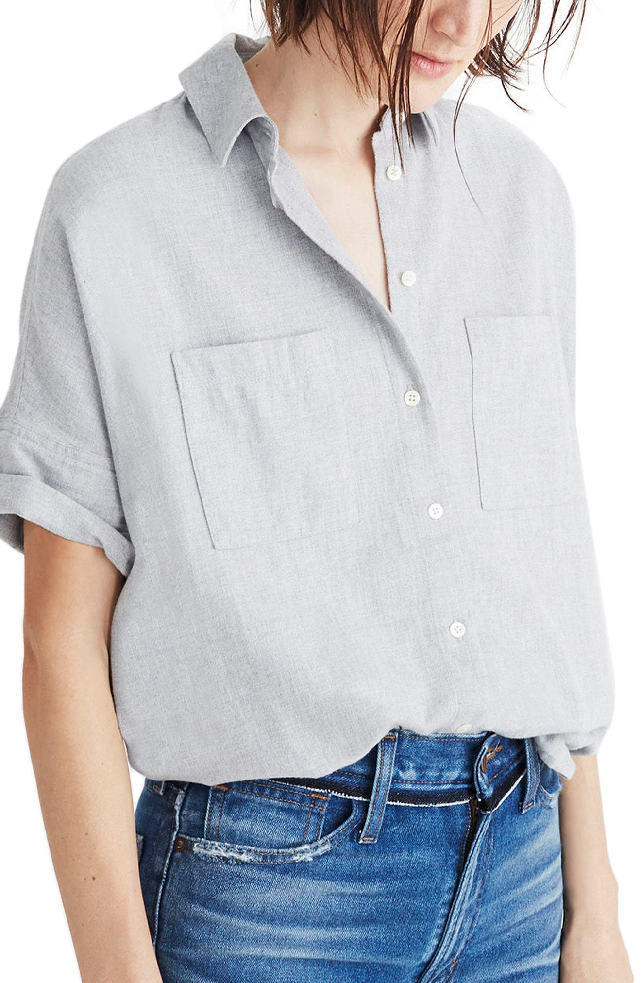 Madewell Flannel Courier Shirt