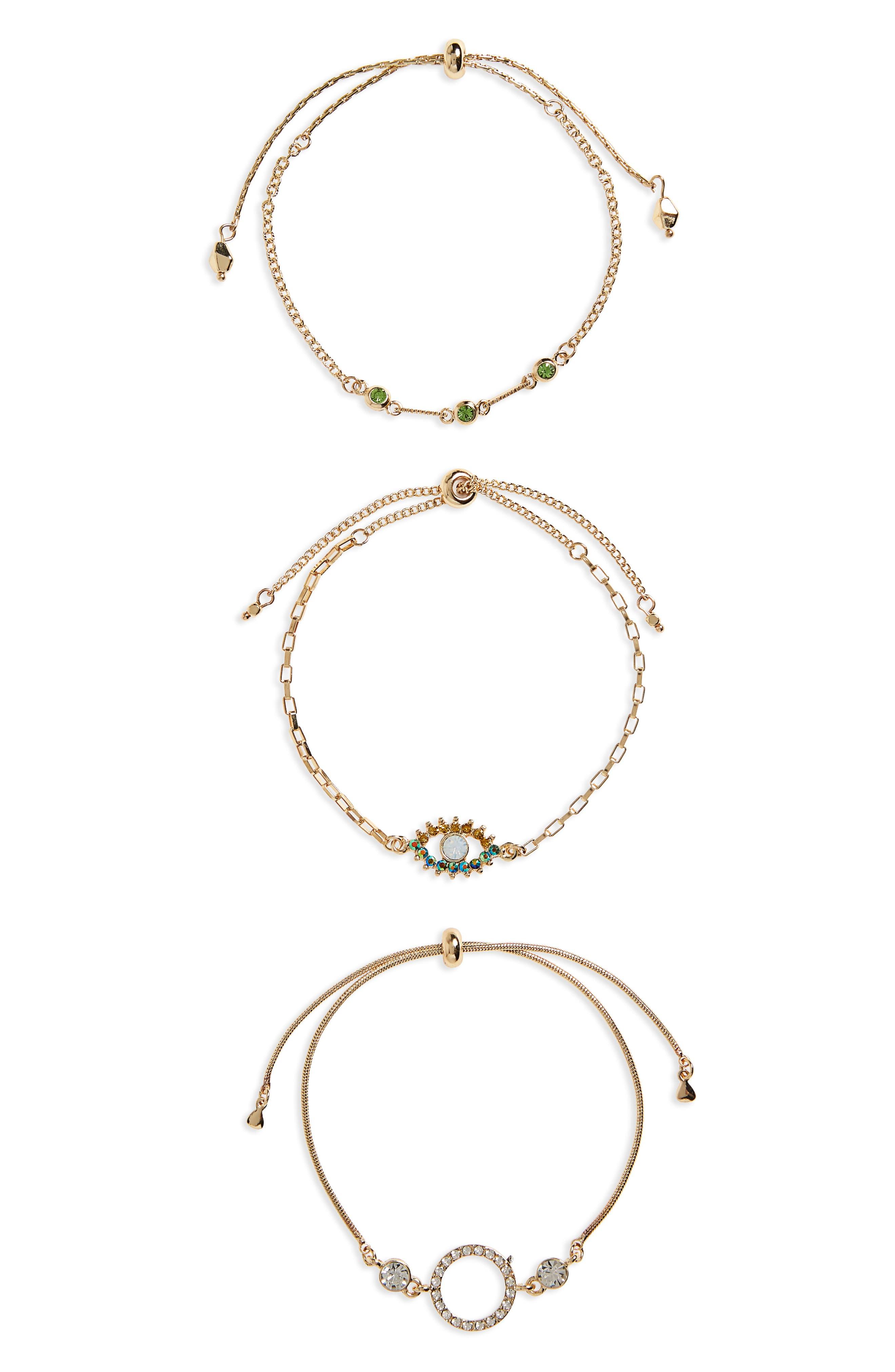 BP. 3-Pack Evil Eye Bracelets