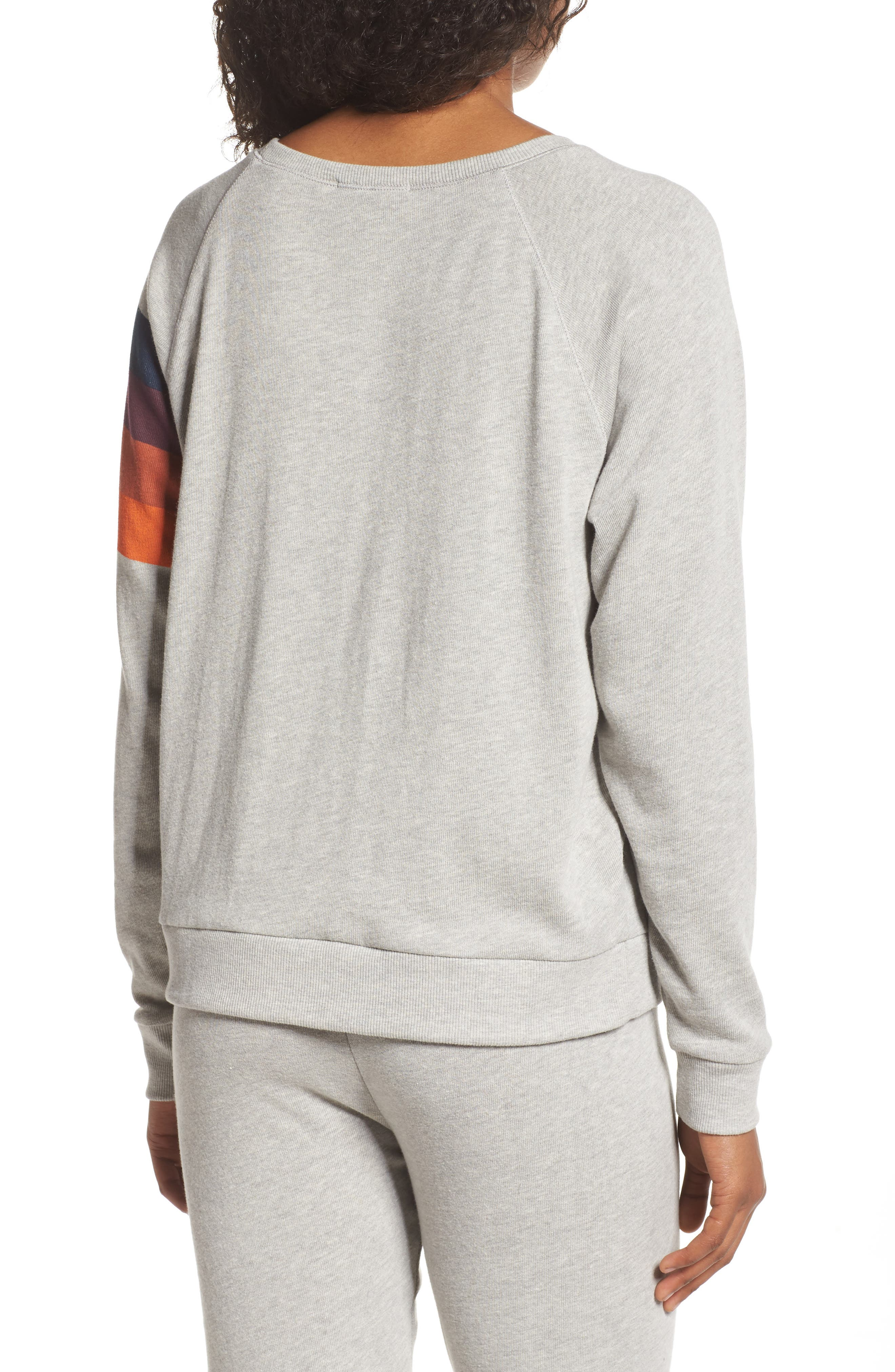 NFL Denver Broncos Hacci Sweatshirt,                             Alternate thumbnail 2, color,                             Dove Heather Grey