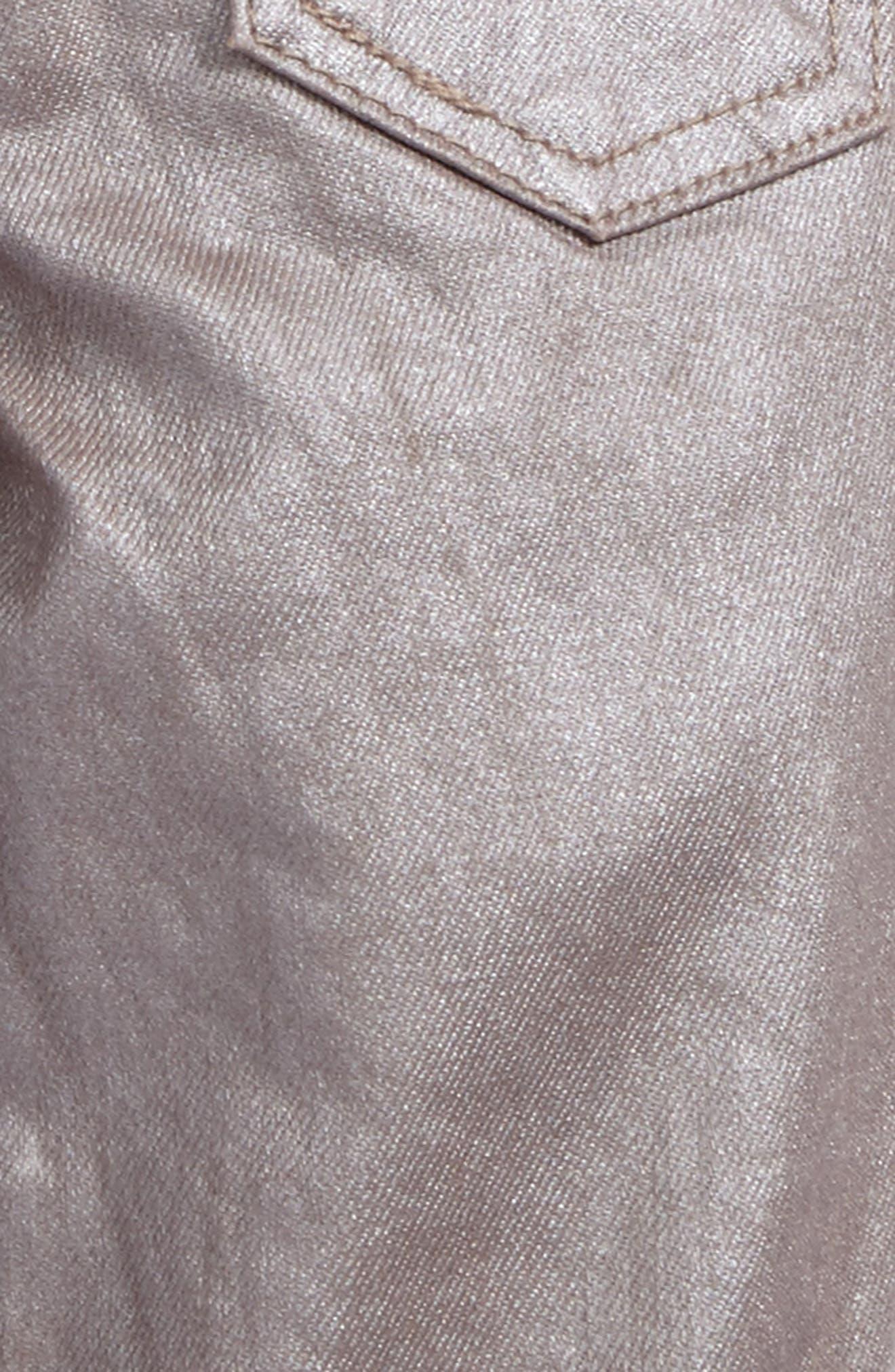 Alternate Image 3  - ag adriano goldschmied kids The Sleek Twiggy Super Skinny Jeans (Baby Girls)