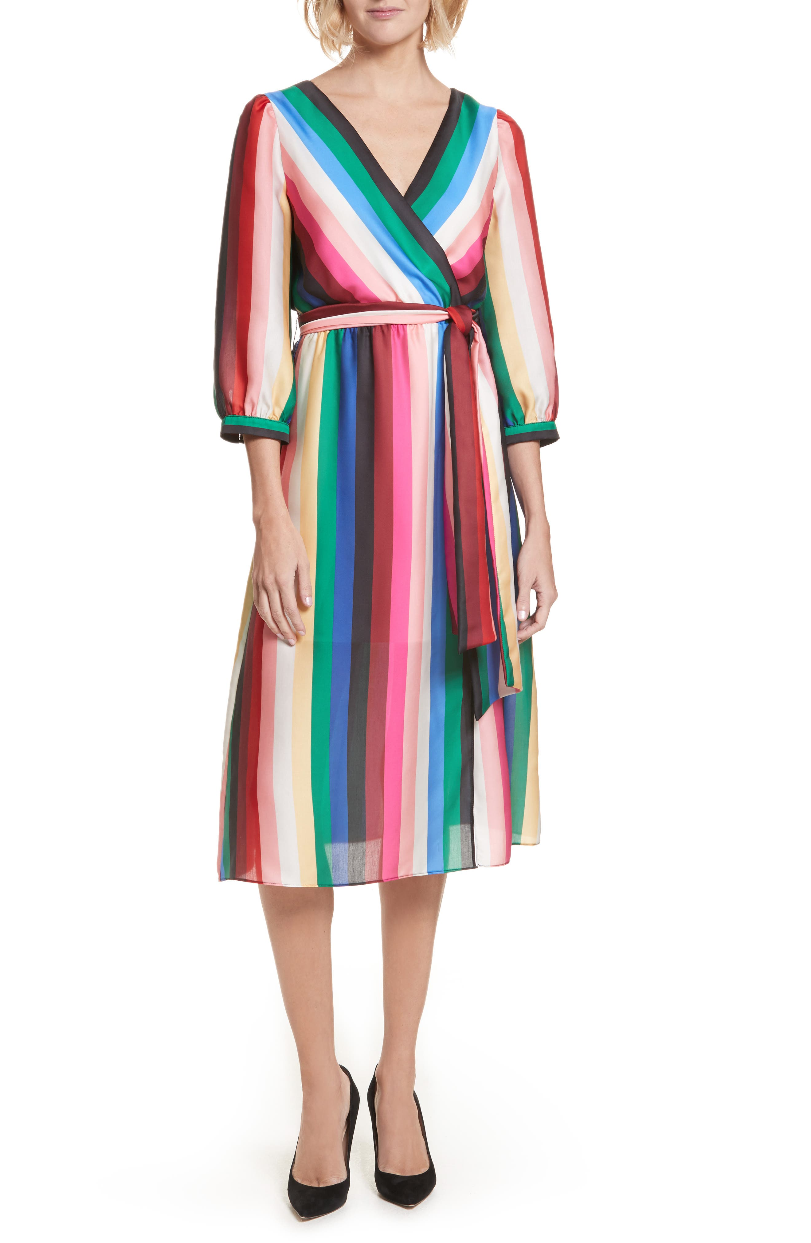 Main Image - Alice + Olivia Dyanna Midi Dress