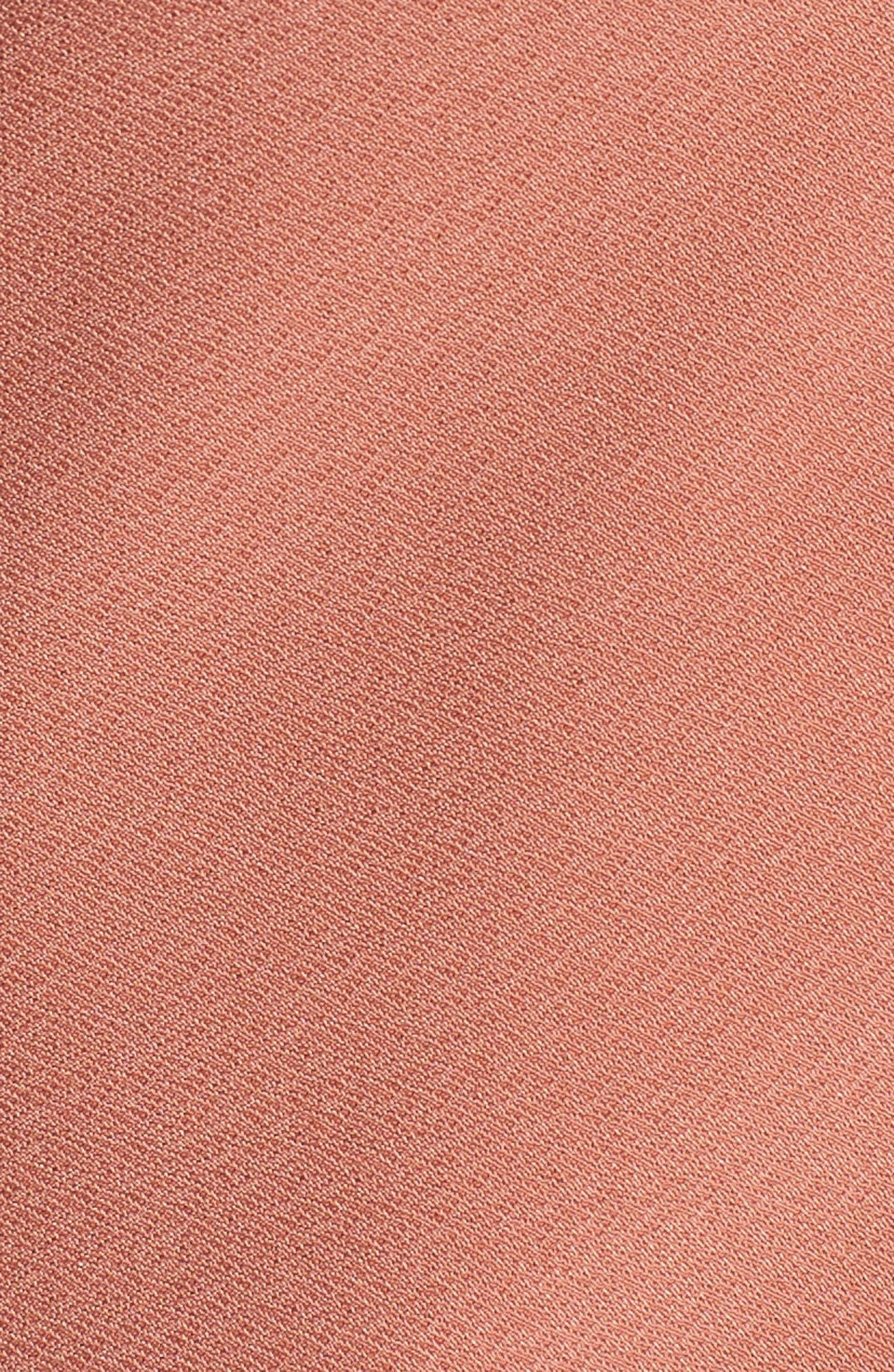 Alternate Image 5  - Leith Flounce Sleeve Faux Wrap Top