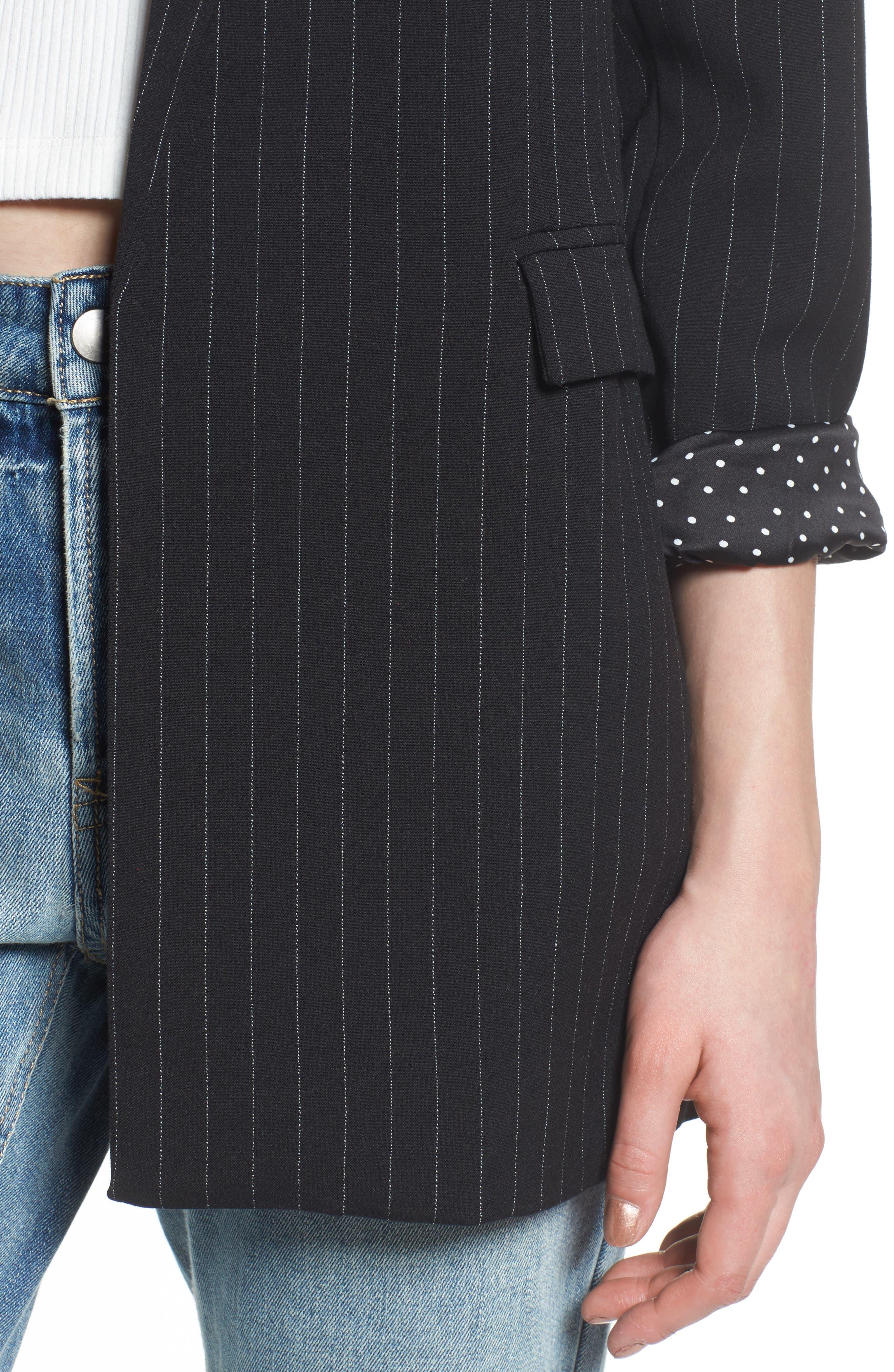 Nova Oversize Blazer,                             Alternate thumbnail 4, color,                             Menswear Suiting