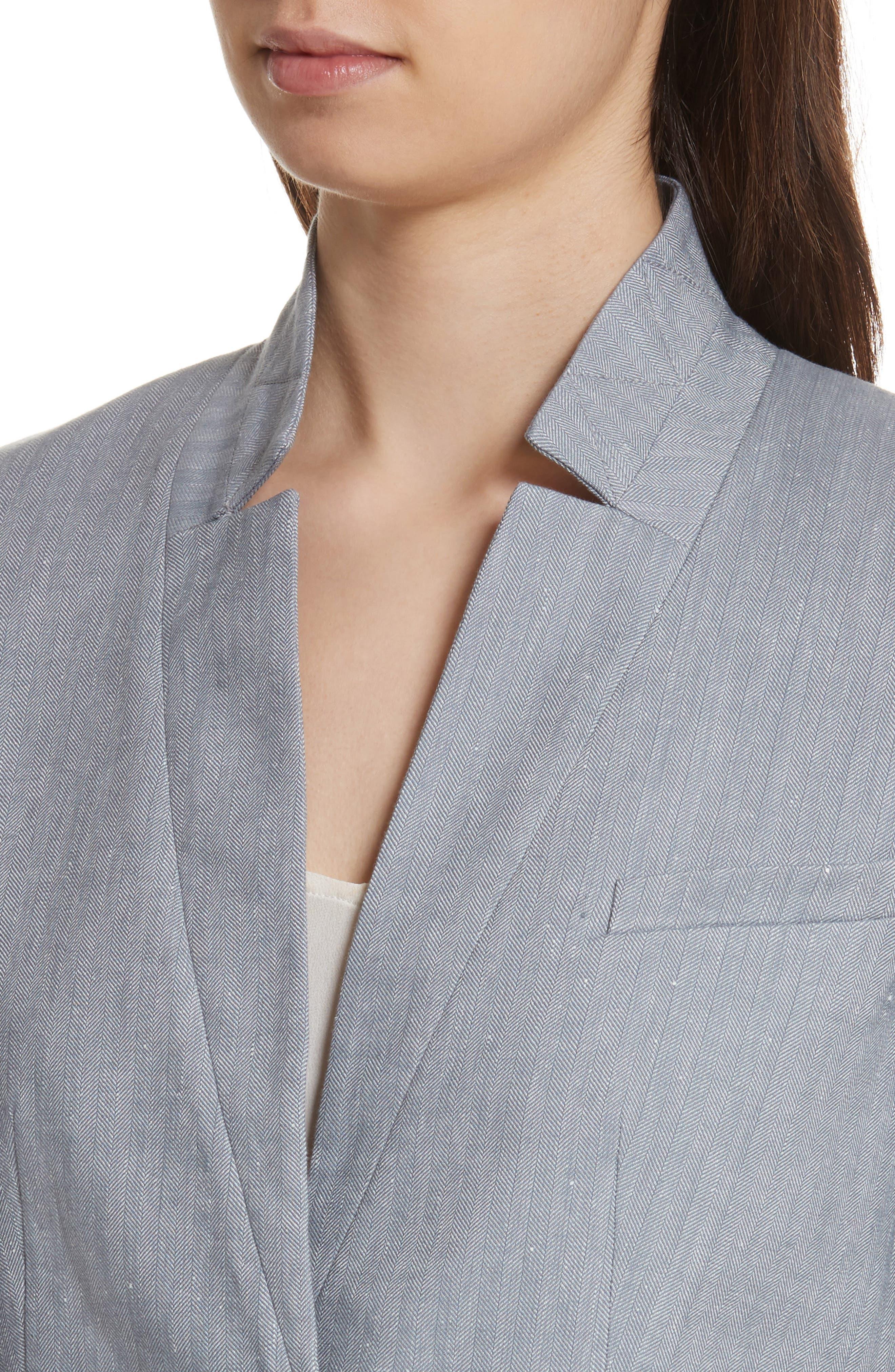 Alternate Image 4  - Veronica Beard Upcollar Jacket