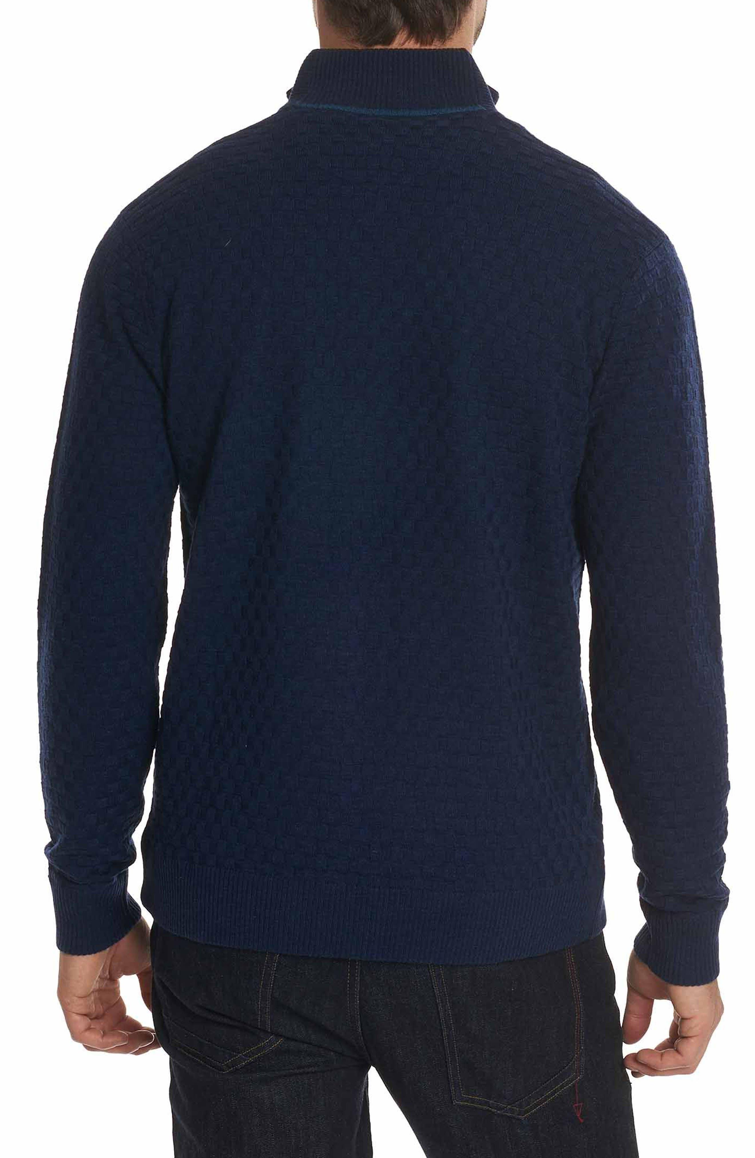 American Beech Wool Sweater,                             Alternate thumbnail 2, color,                             Navy