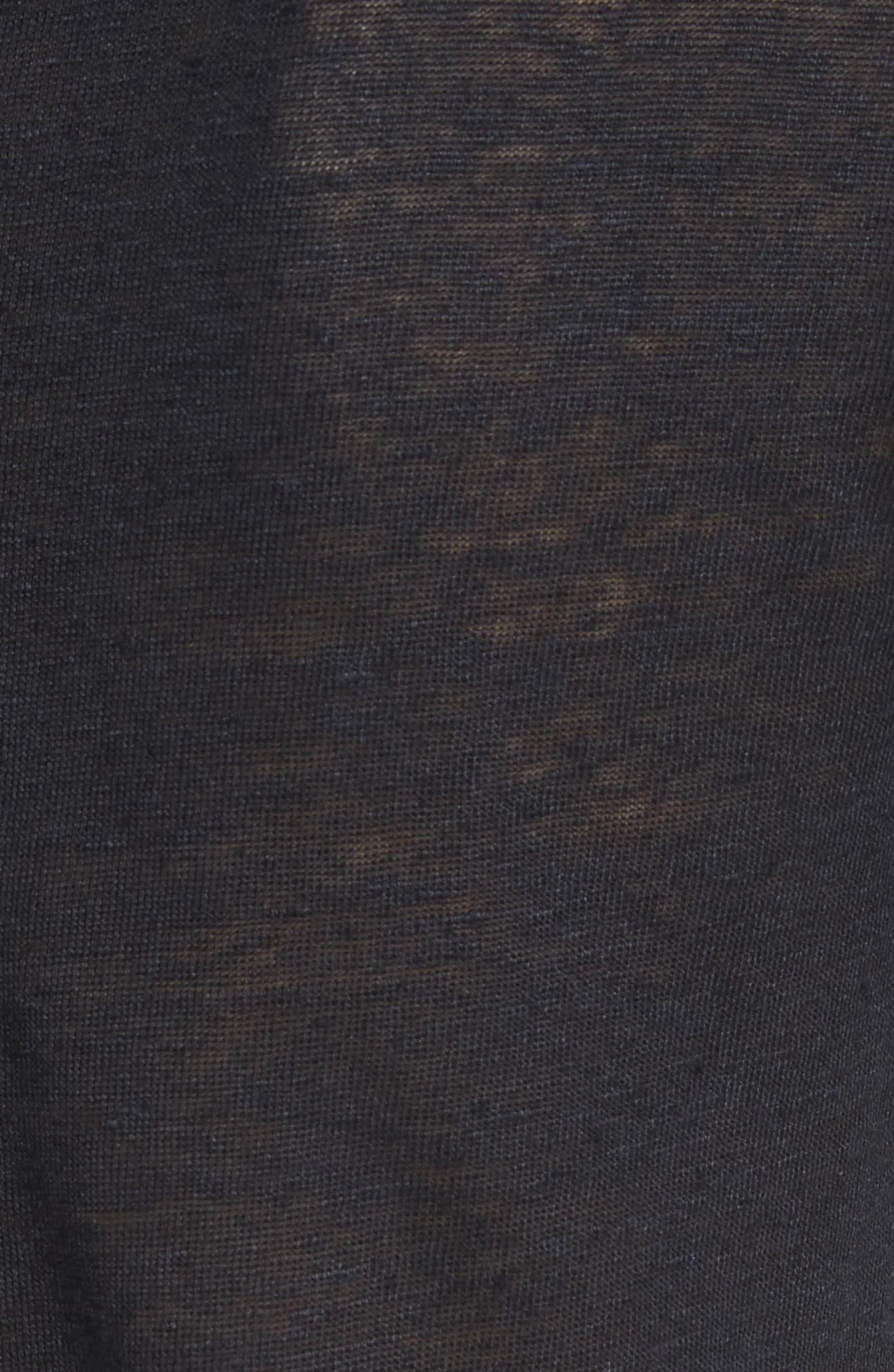Serrano Cold Shoulder Tee,                             Alternate thumbnail 5, color,                             Navy