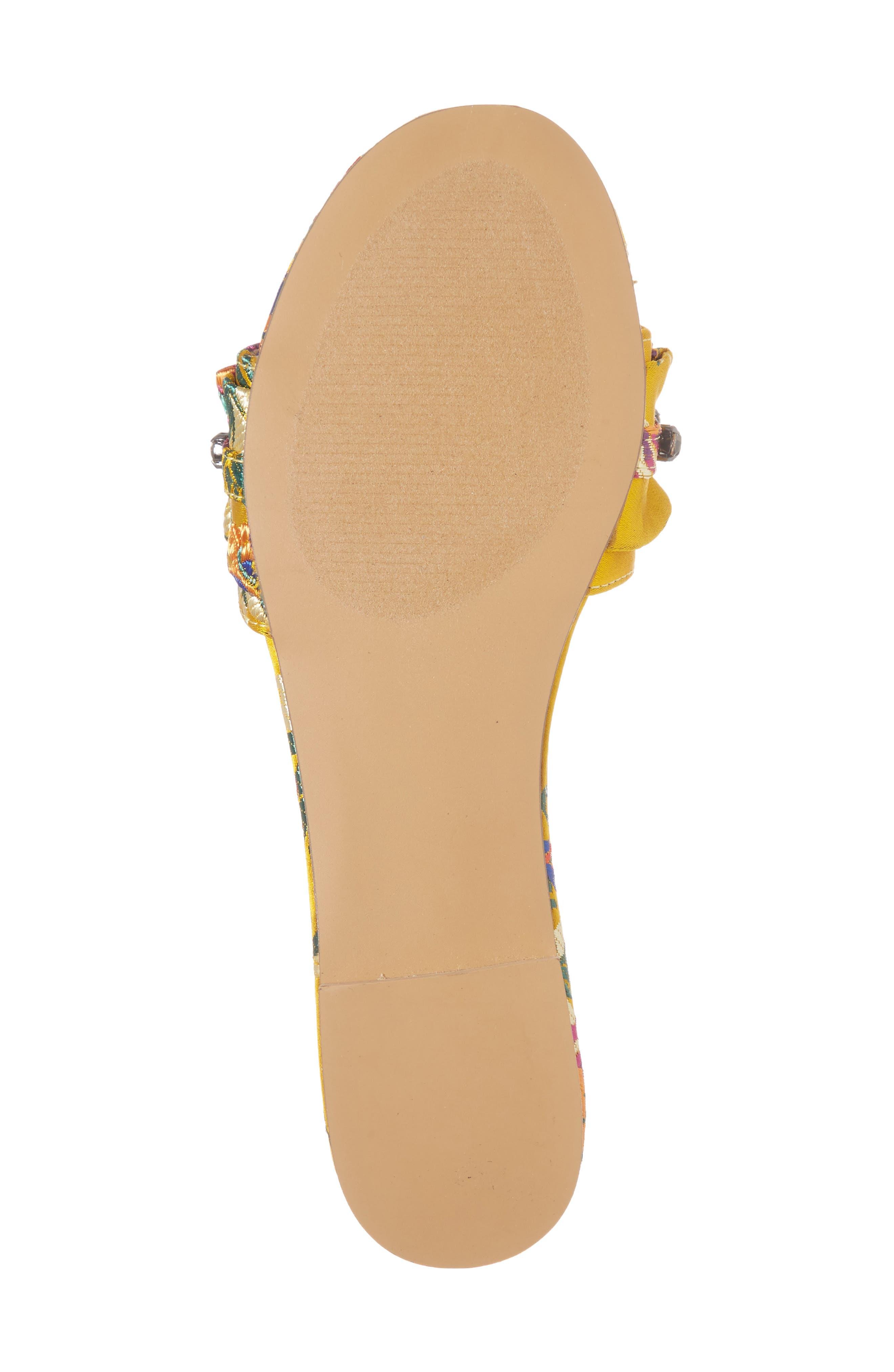 Alternate Image 6  - Steve Madden Pomona Crystal Embellished Slide Sandal (Women)