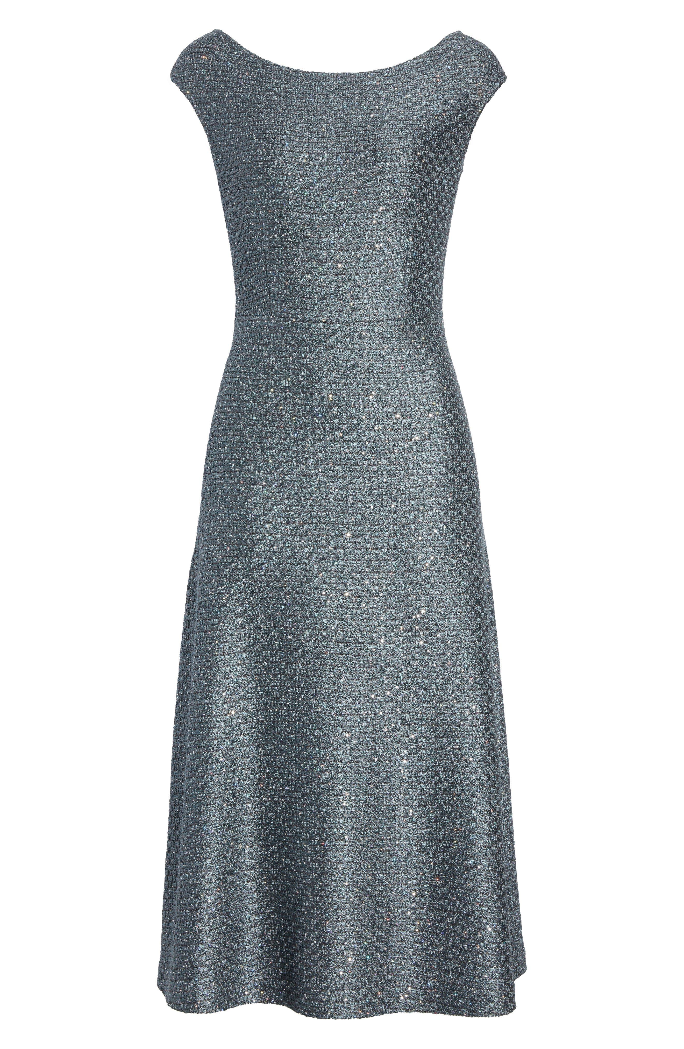 Alternate Image 6  - St. John Collection Sequin Knit Midi Dress