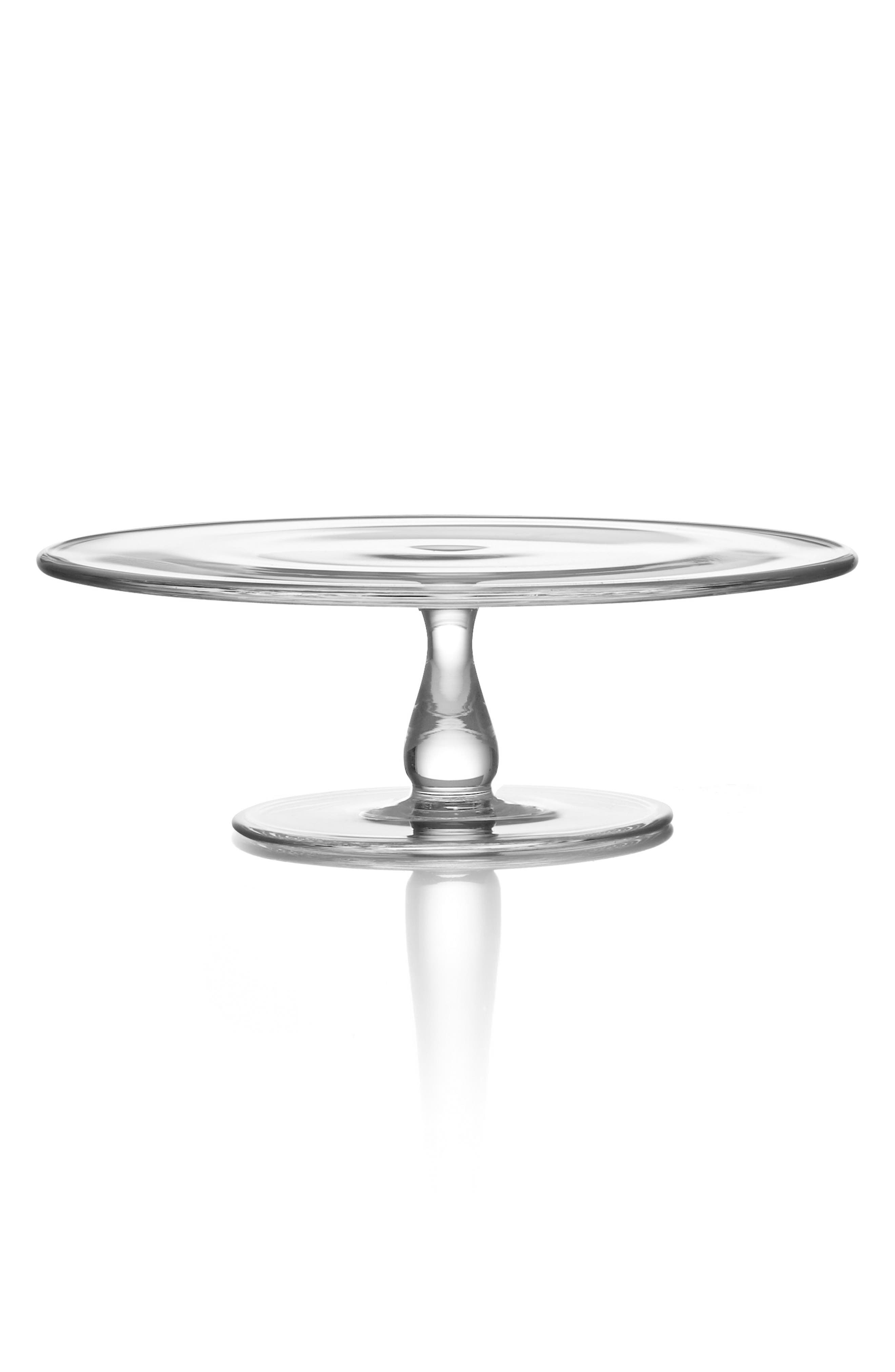 Alternate Image 1 Selected - Nambé Small Moderne Cake Plate