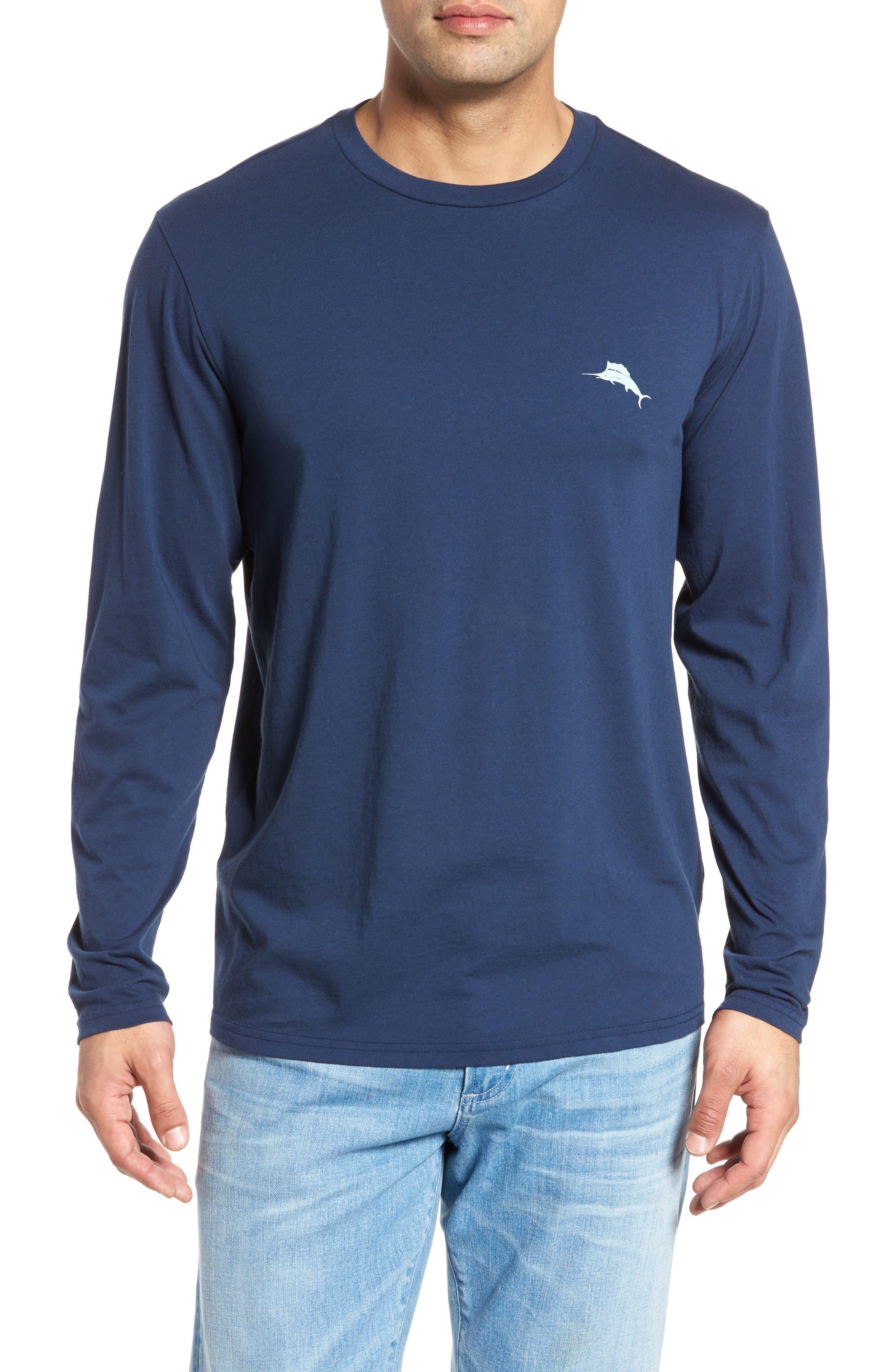 Diamond Isle Graphic T-Shirt,                             Alternate thumbnail 2, color,                             Navy